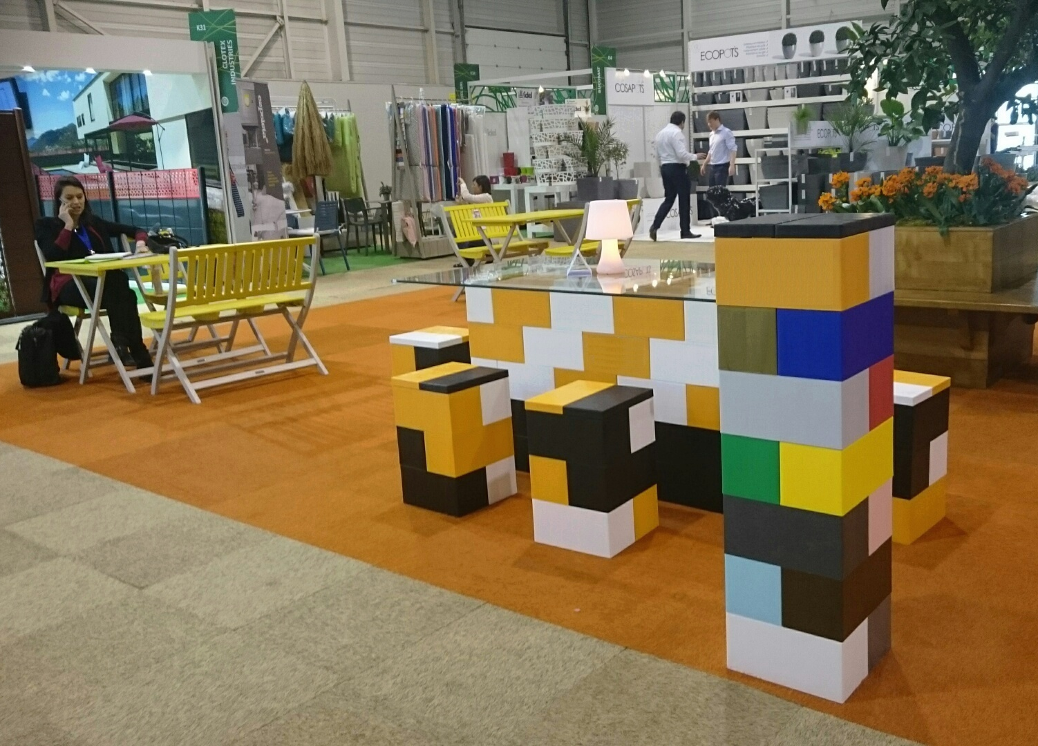 Compliment your display with attention grabbing EverBlock furniture.
