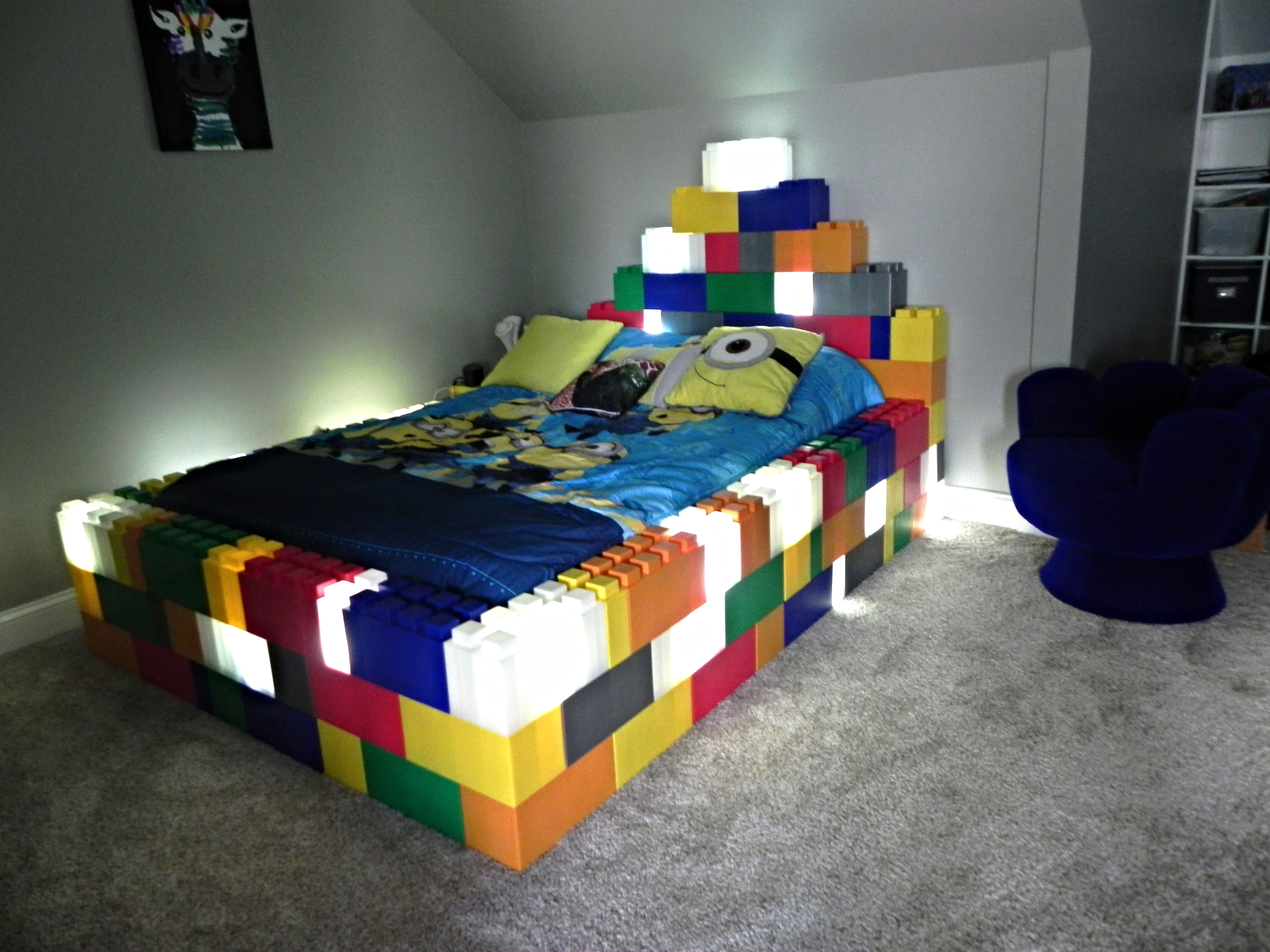 Illuminated Bed Frame