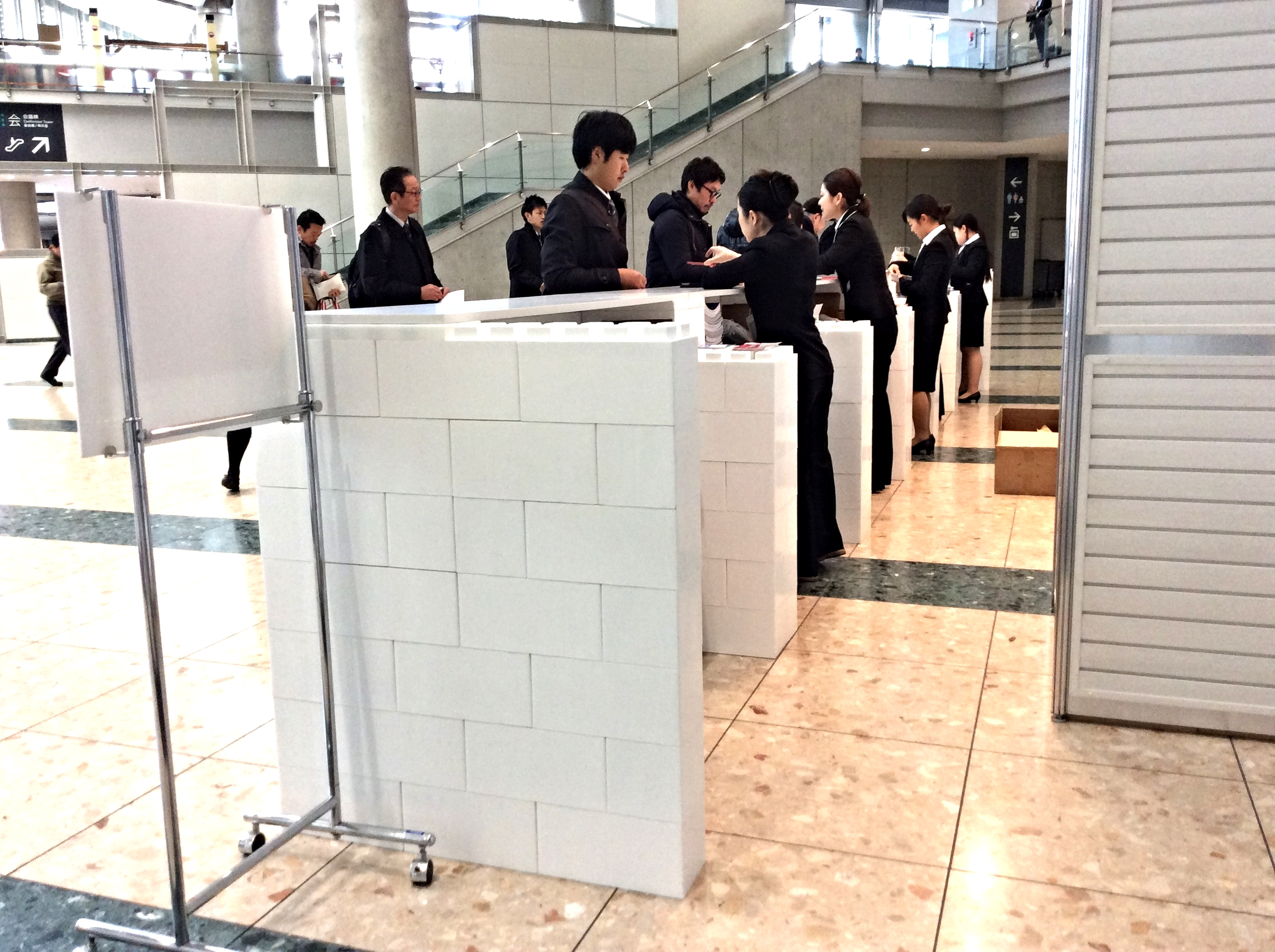 Reception Counter - Event Japan