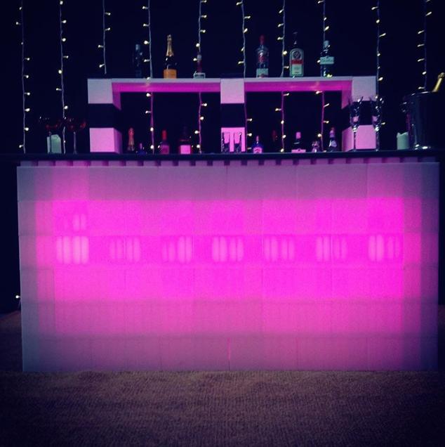 Illuminated Modular Furniture
