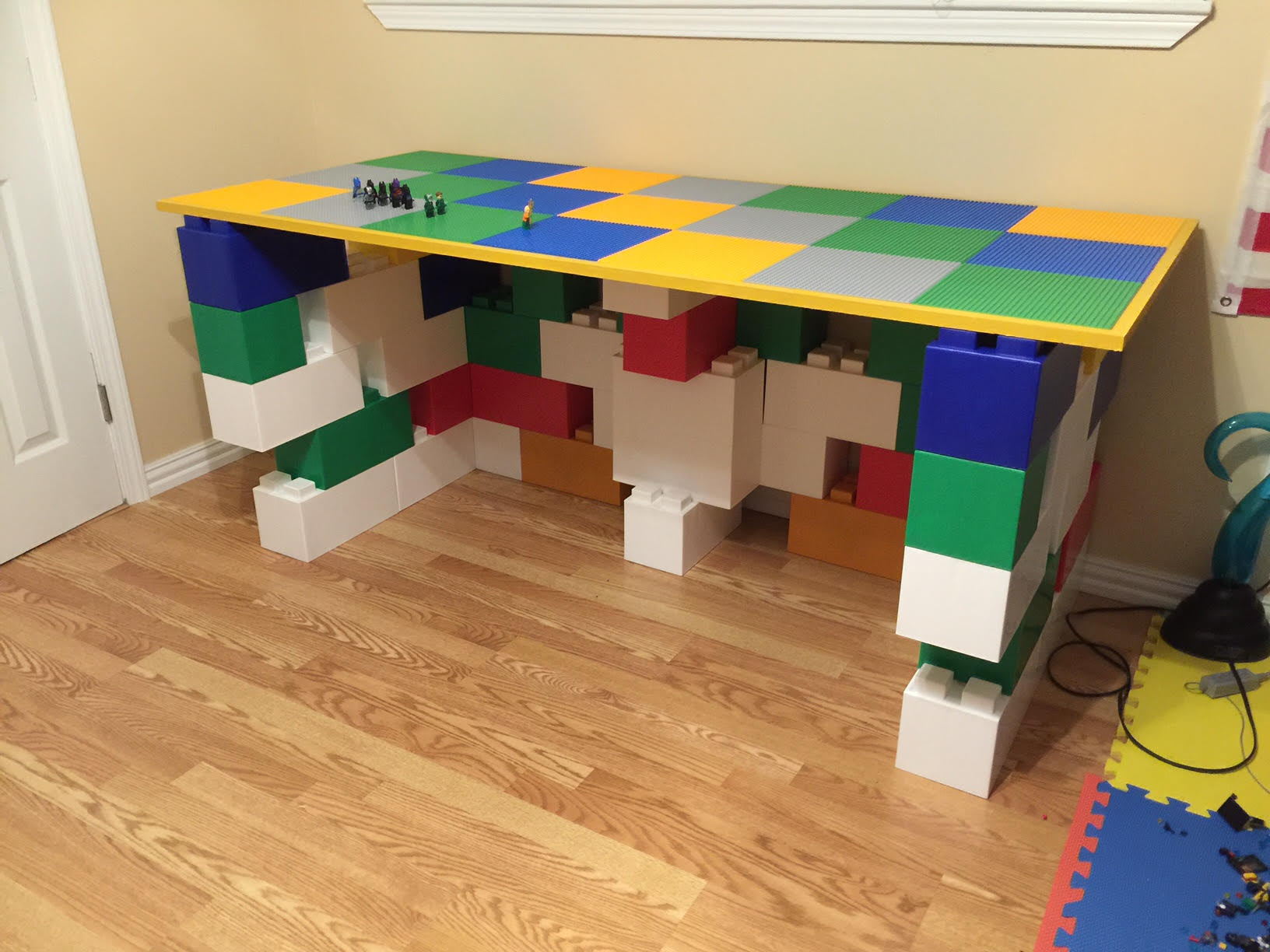 Colorful Work Tables