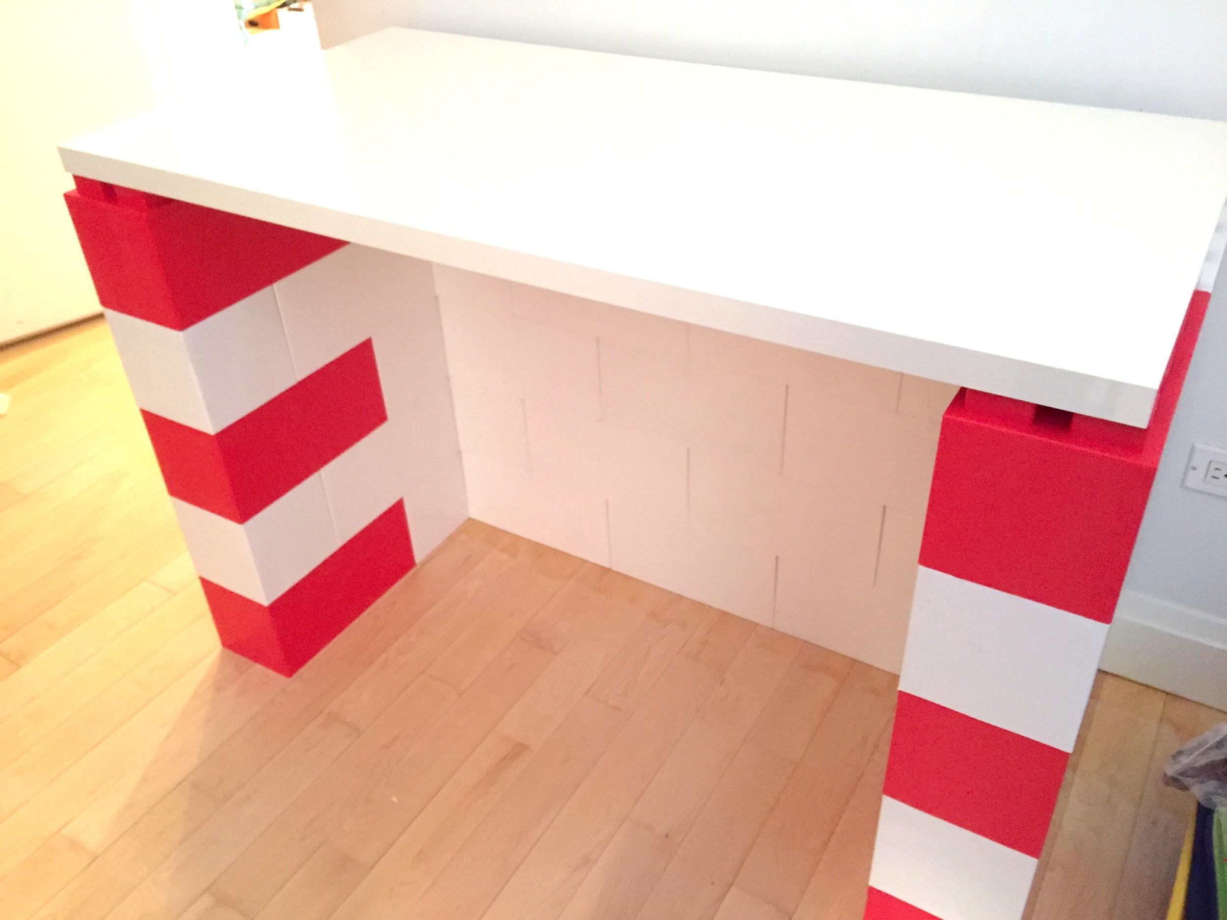 Colorful Modular Desks
