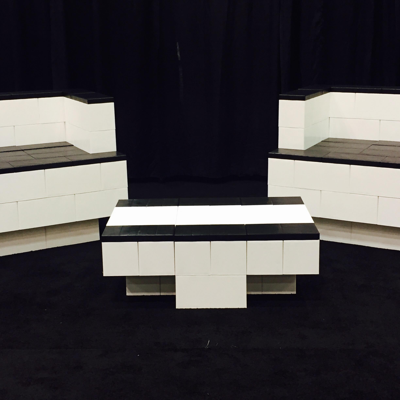 Modular living room set