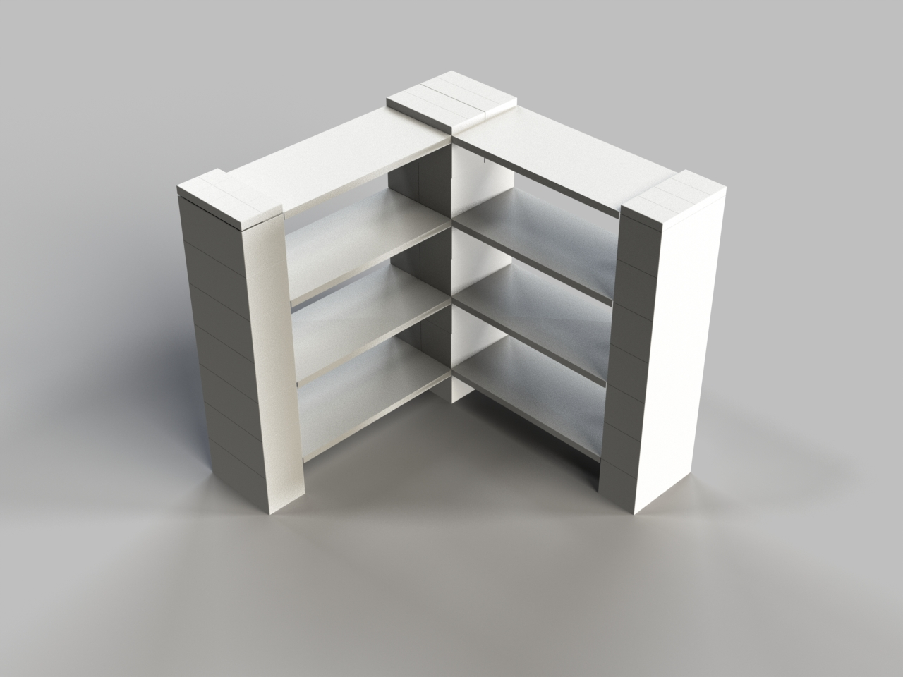 4 Level Corner Shelf B