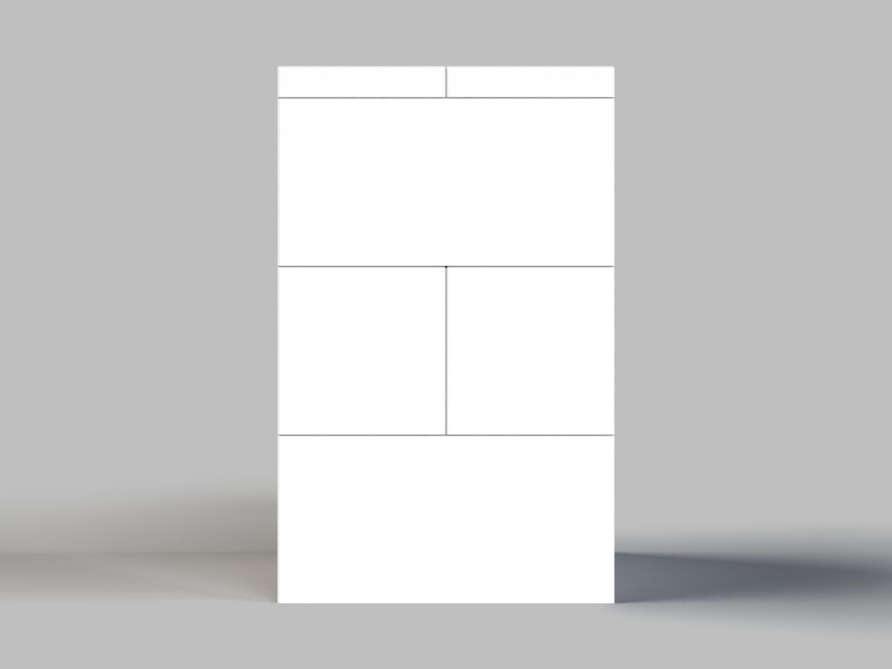 Font/Back View