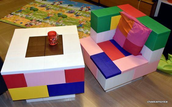 Colorful Modular Furniture