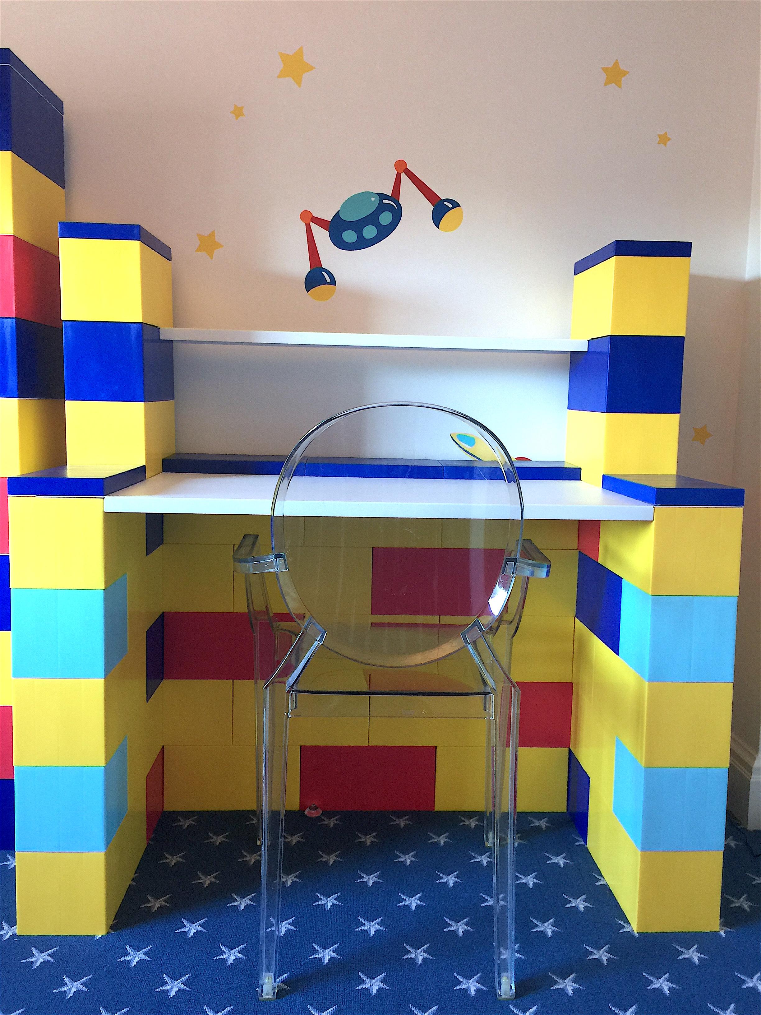 Colorful Kids Desks