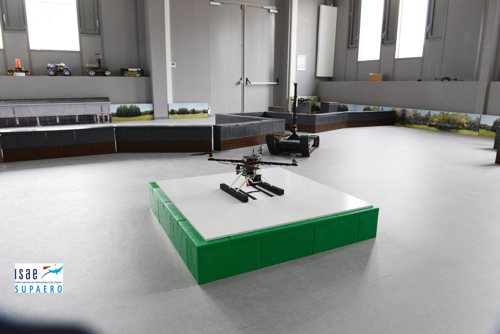 Use to create borders and enclosure for robotics and other educational projects.