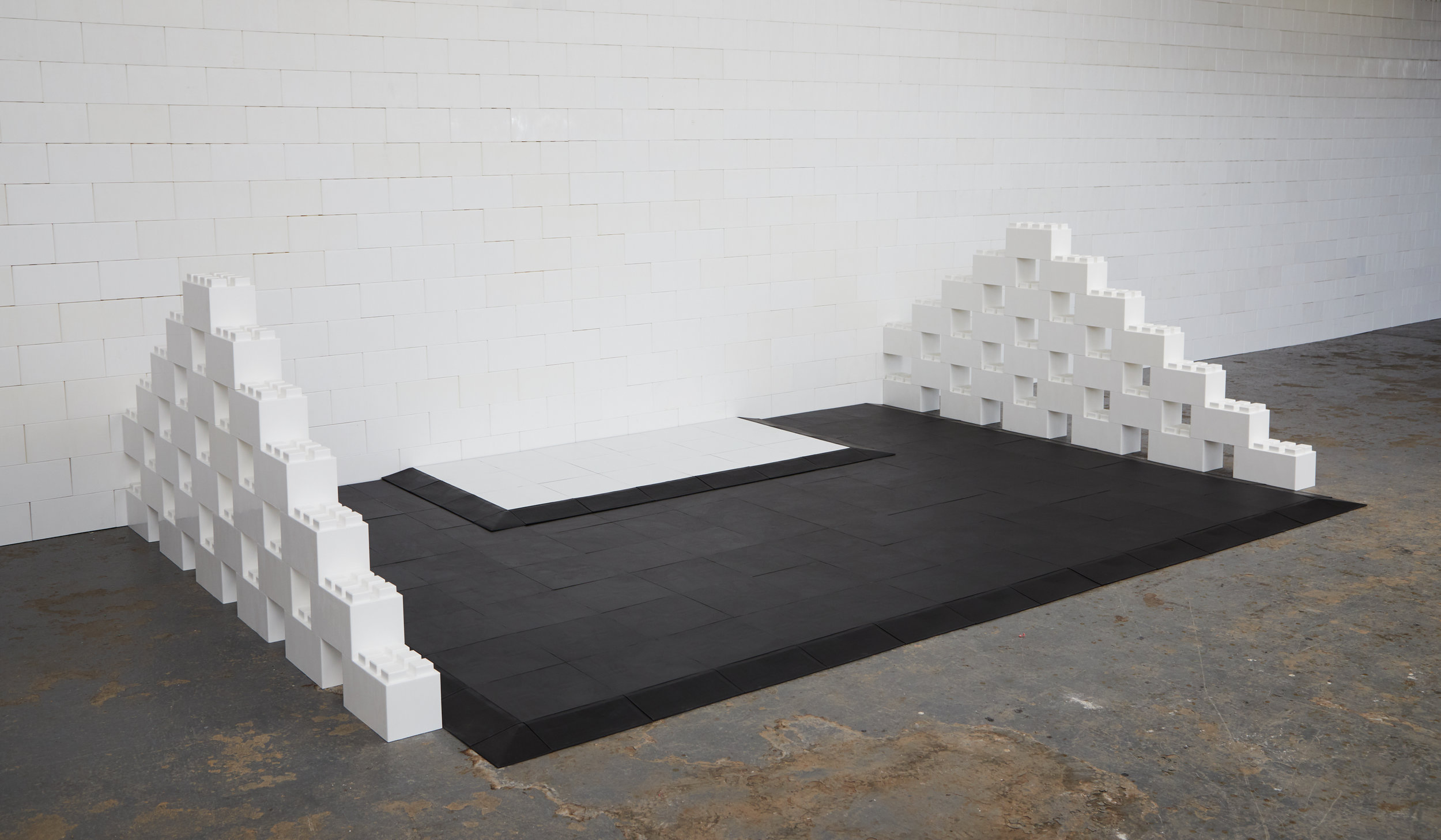 EverBlock flooring works seamlessly with EverBlock building blocks to create the ultimate building system.