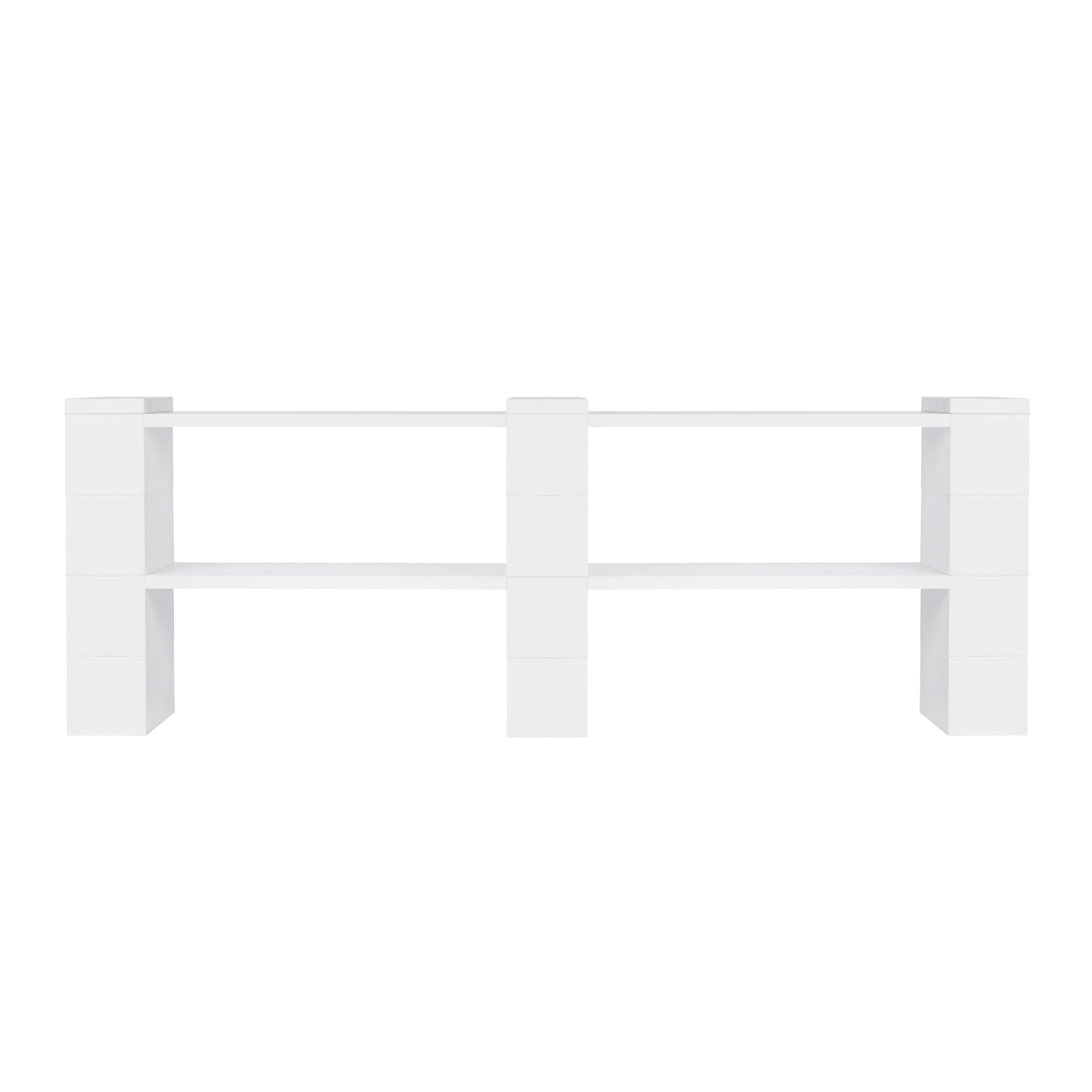"2 Level, Double Shelf, 72""W EverBlock Shelving Kit"