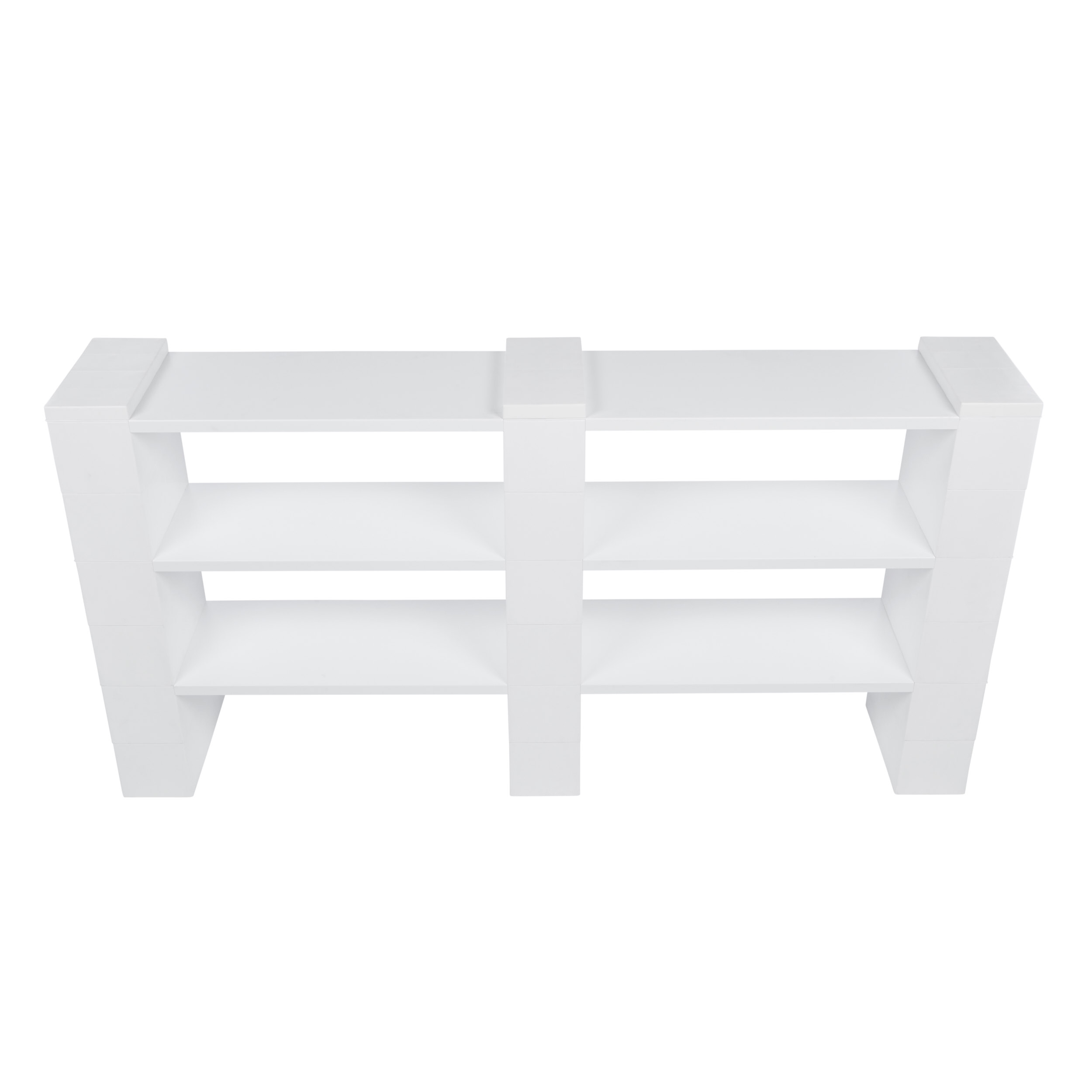 "3 Level, Double Shelf, 72""W EverBlock Shelving Kit"