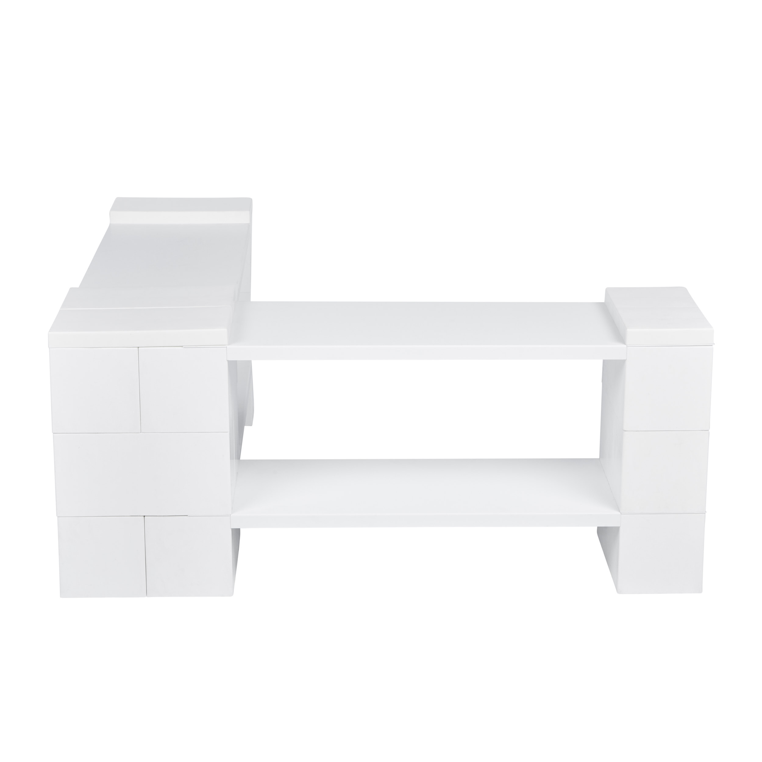 2 Level Corner Shelving Kit B