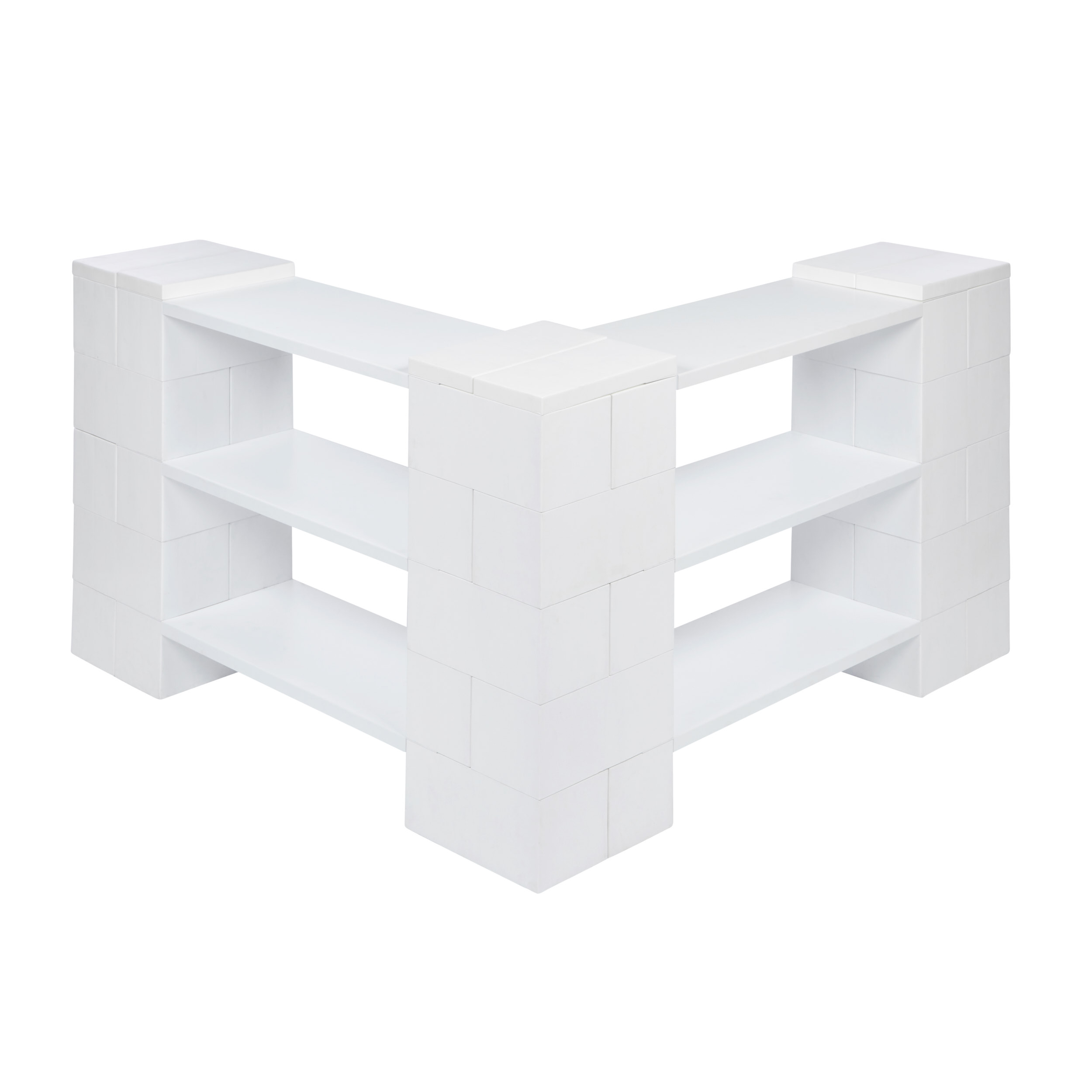 3 Level Corner Shelving Kit A