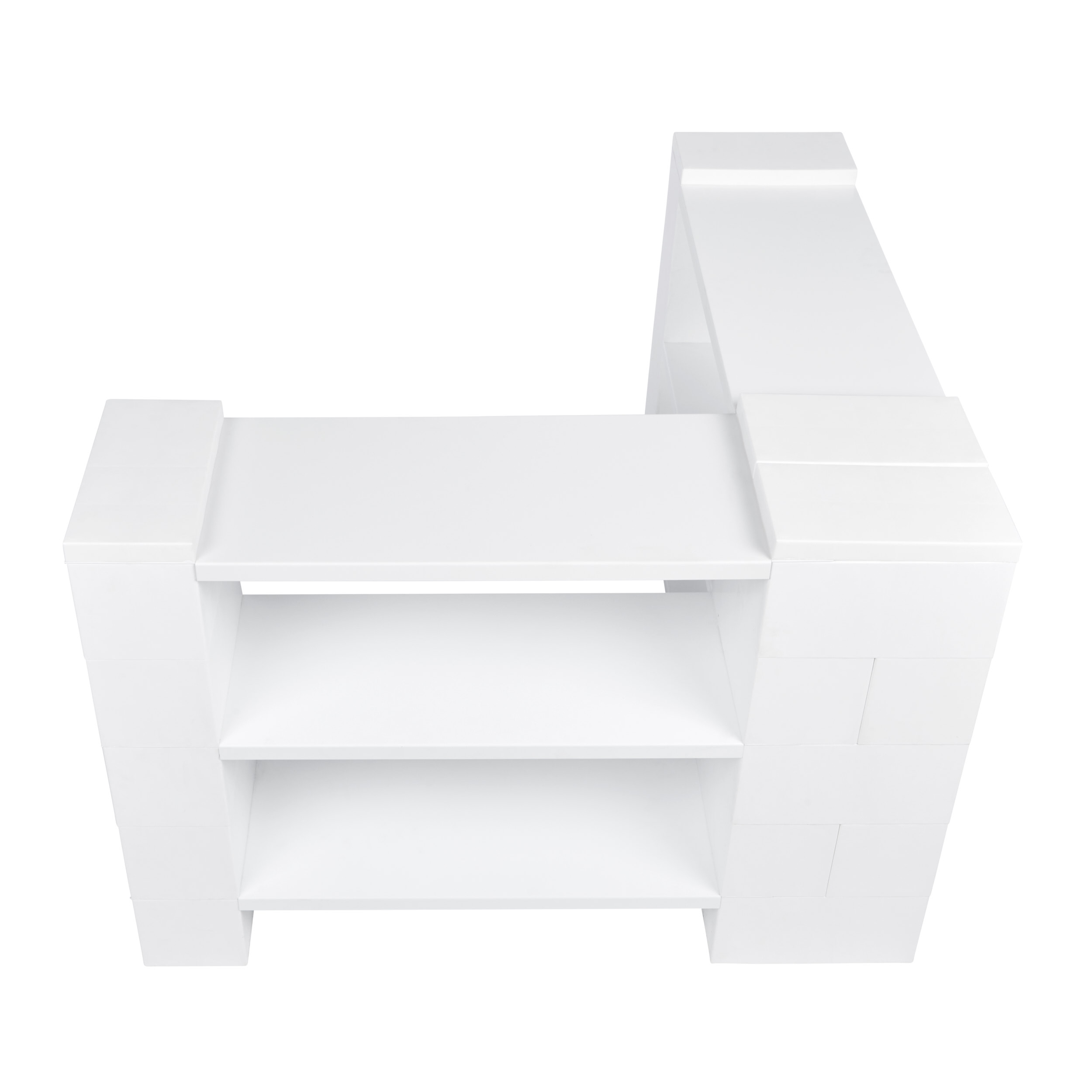3 Level Corner Shelving Kit B