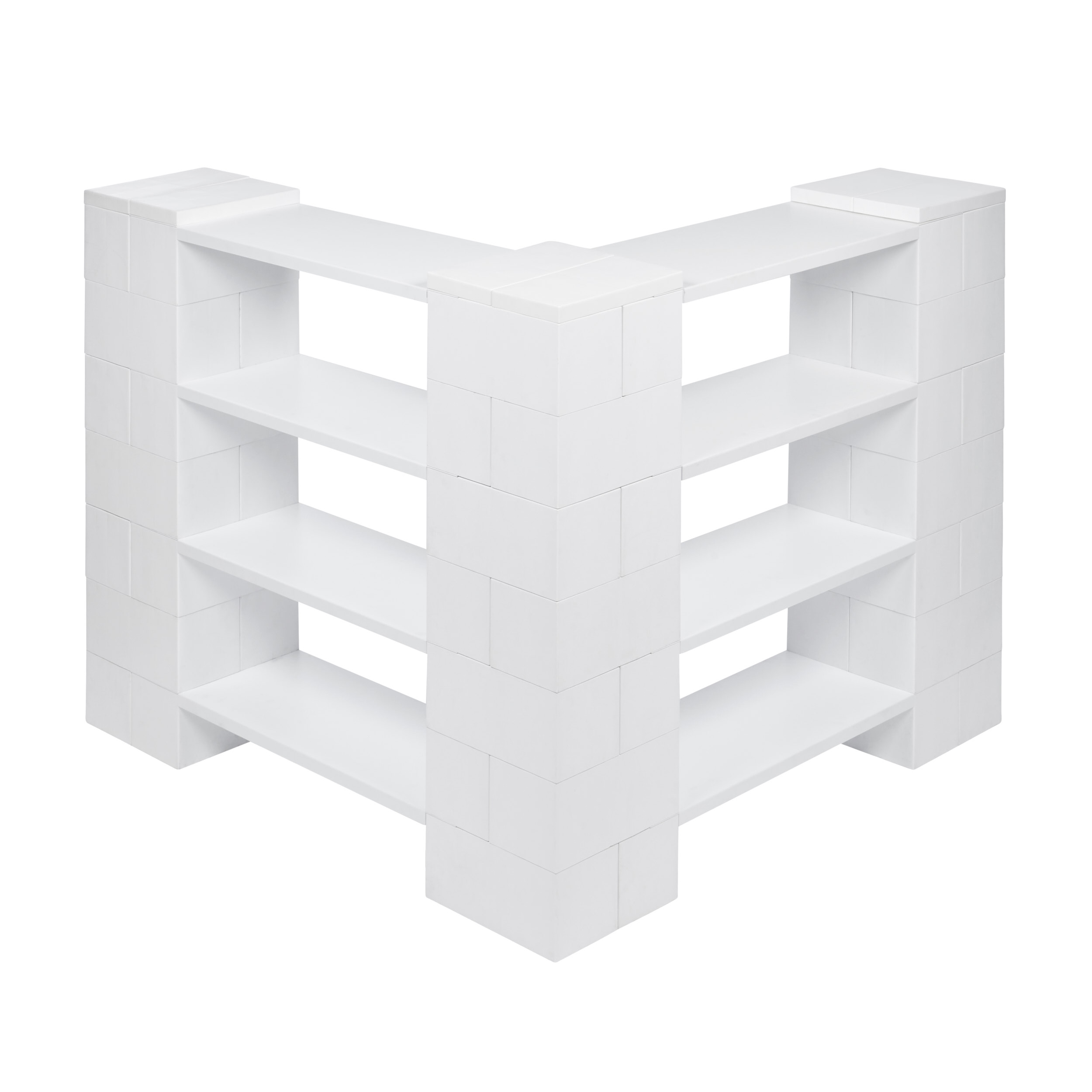 4 Level Corner Shelving Kit A