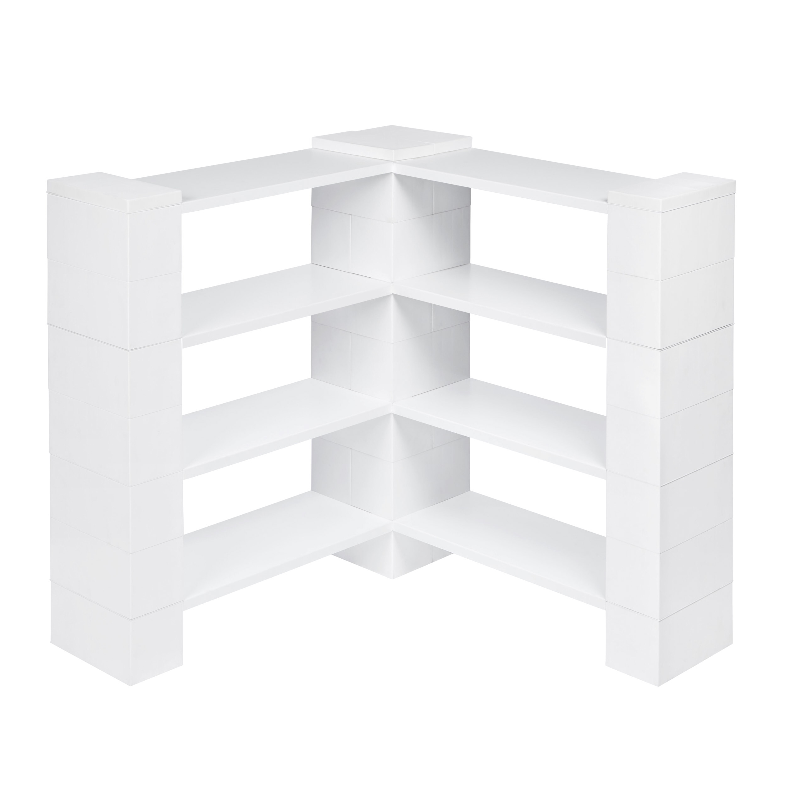 4 Level Corner Shelving Kit B