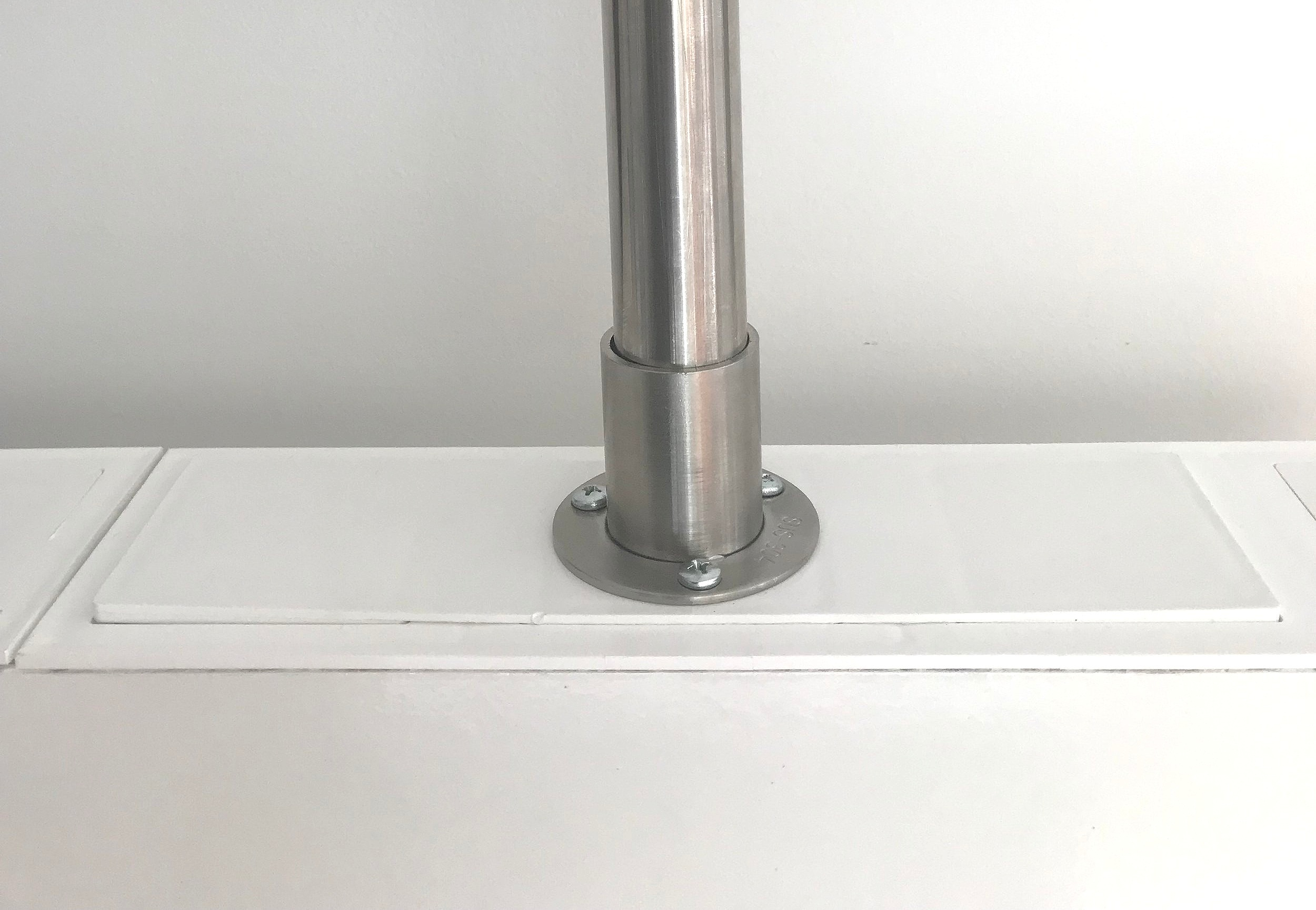Ceiling Brackets snap into the top of EverPanel