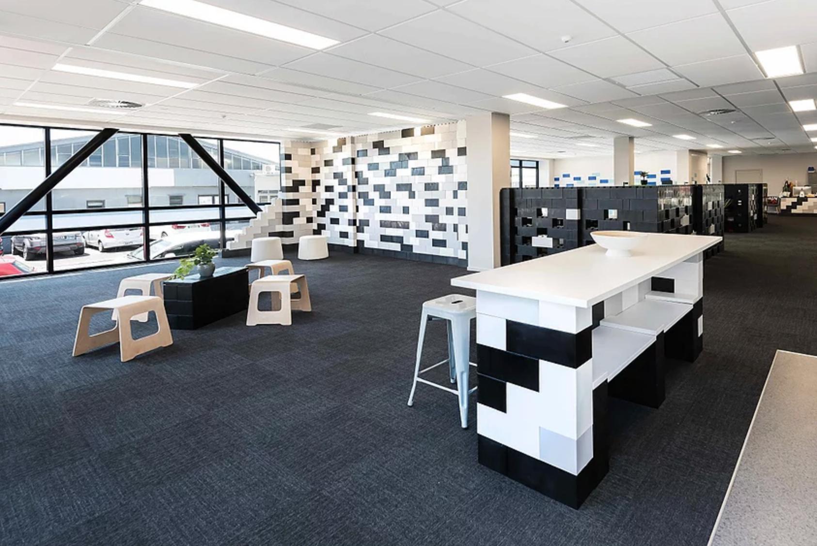 everblock modular office design, modular furniture