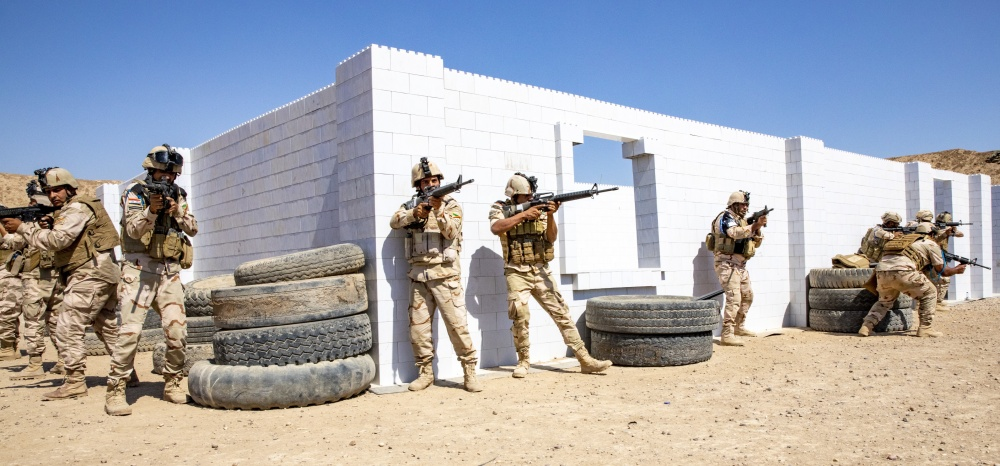 everblock modular building blocks for mout military training facilities