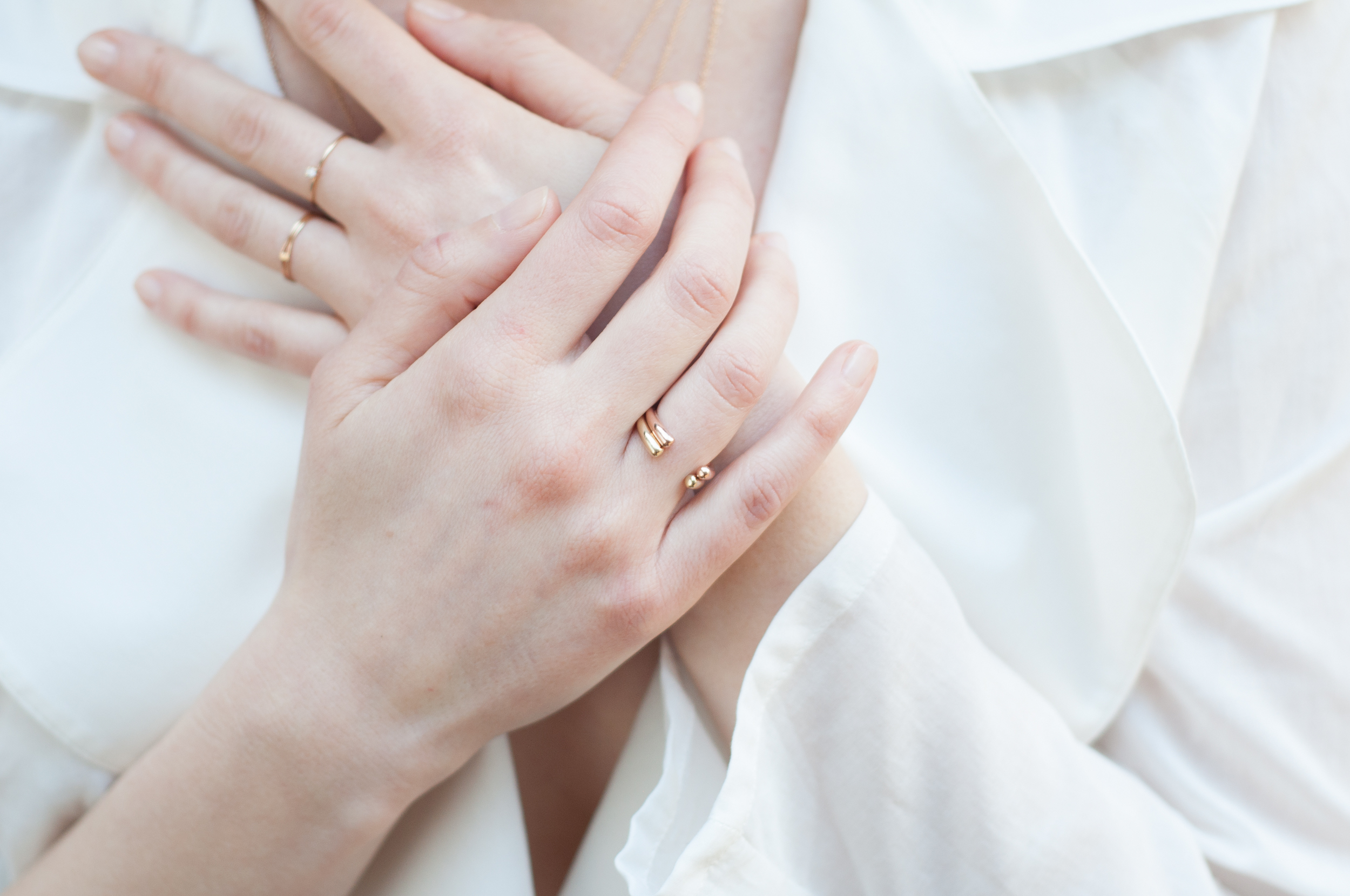 Enso Rings  -  Knot Ring  -  Crown Ring