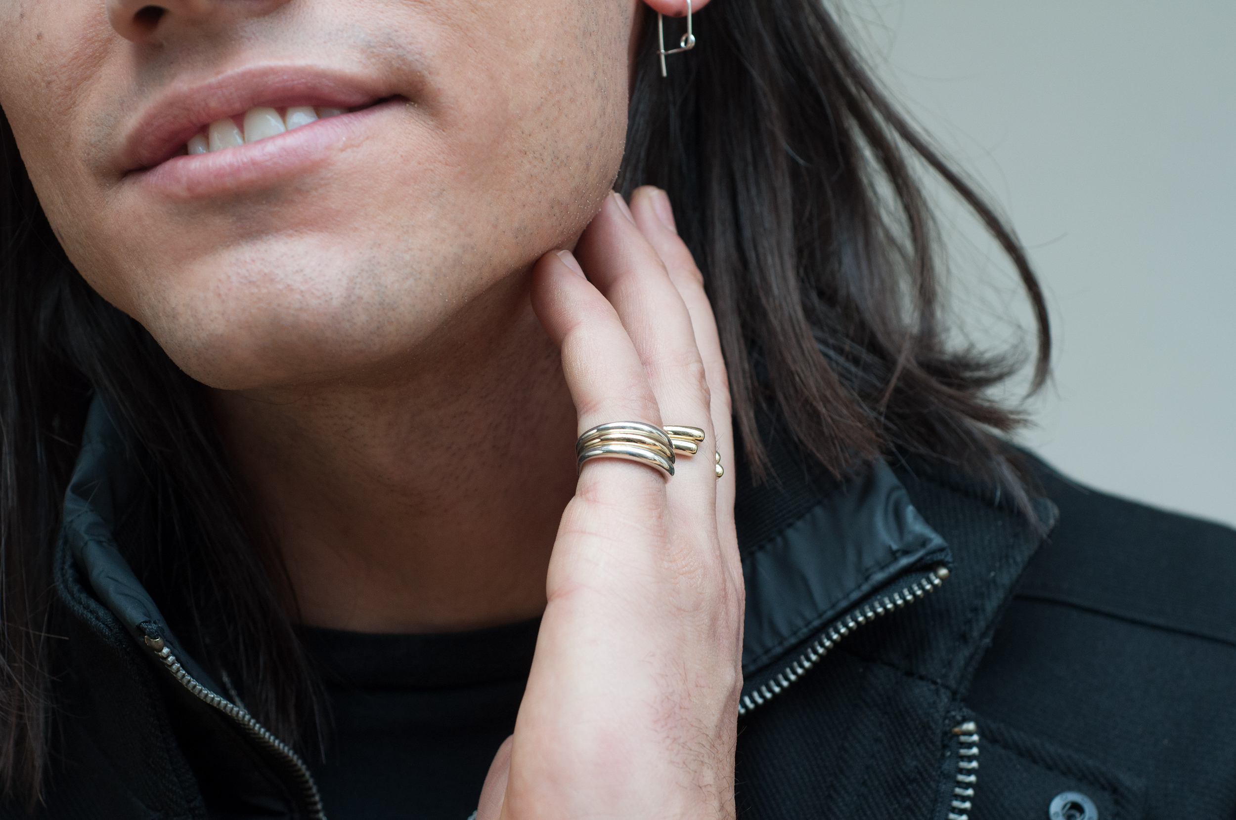 Spilla Earring  -  Enso Rings