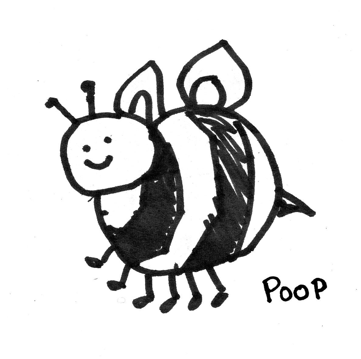 pooping bee.jpg