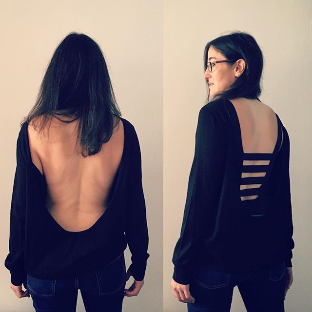 Resolution: Random Wardrobe. When clearing this client's closet, we came across a shirt she wanted to keep but didn't know how to wear. She found it too sheer for public to go braless and wanted to keep the spirt of a sexy open back. Originally she thought sexy colored lace bras but it didn't suit her classy urban vibe.  I did some searching online and found this body suit at freepeople for a interesting back. Also, it features a cheeky front to wear solo if she is in the mood. If you too have random items that forever hang in the dark wanting to be worn, but need help finding the right companion pieces PM or email me at chris@chrisrumery.com @shannahalbert #freepeople #bodysuits #wardroberesolutions #wardrobestories #closetcurator #closetcuration #closet #personalstylist #personalstyle #wardrobe #style #transformation #transgender #youareperfect #youarebeautiful