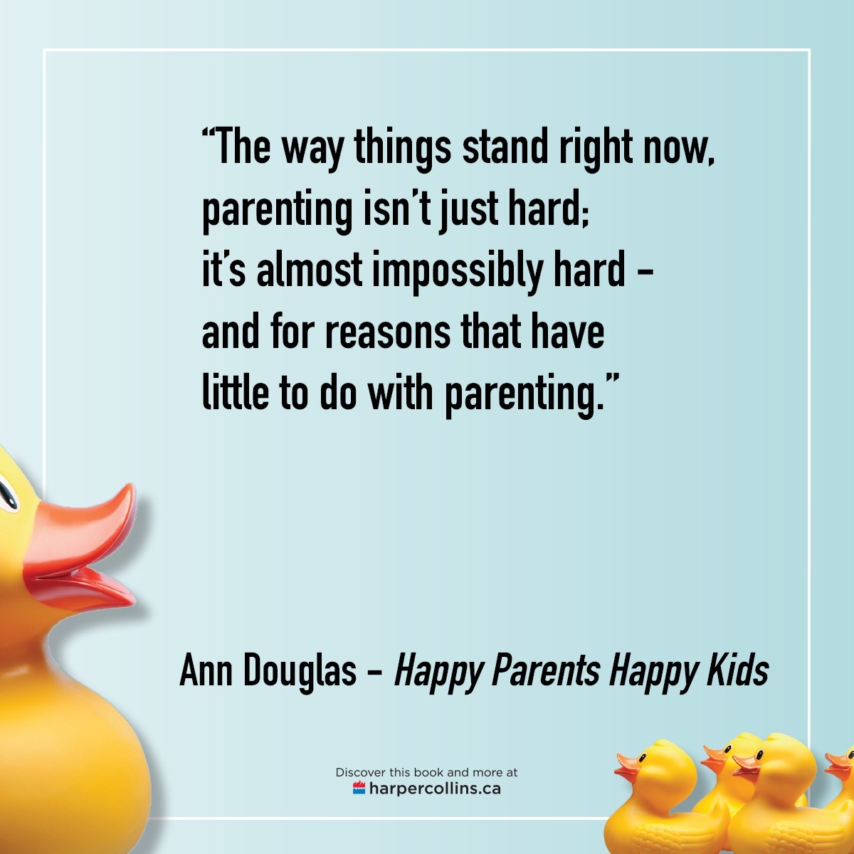Parenting isn't just hard. It's almost impossibly hard. And for reasons that have little to do with parenting.