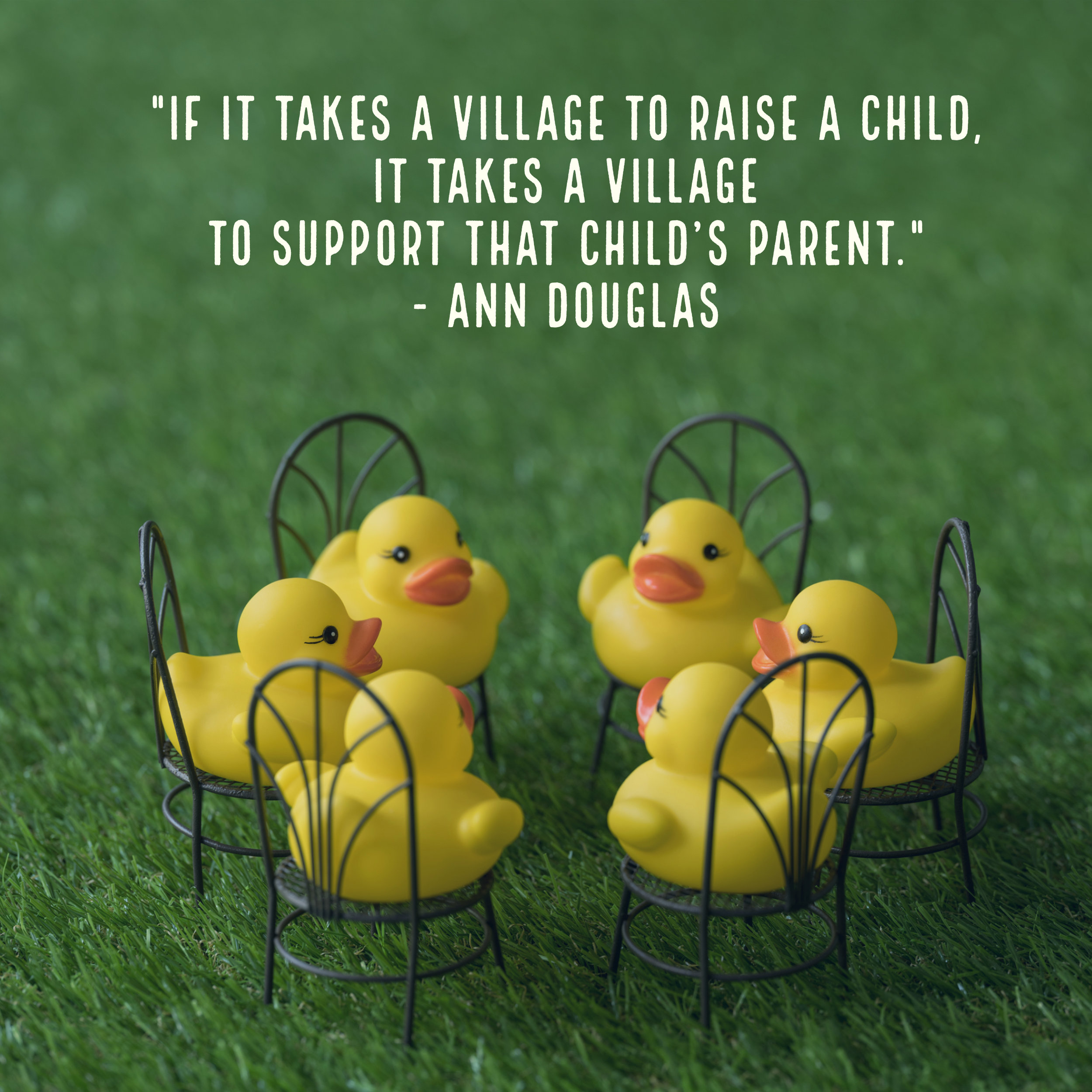 If it takes a village to raise a child, it takes a village to support that child's parent. Here's how to be that village….