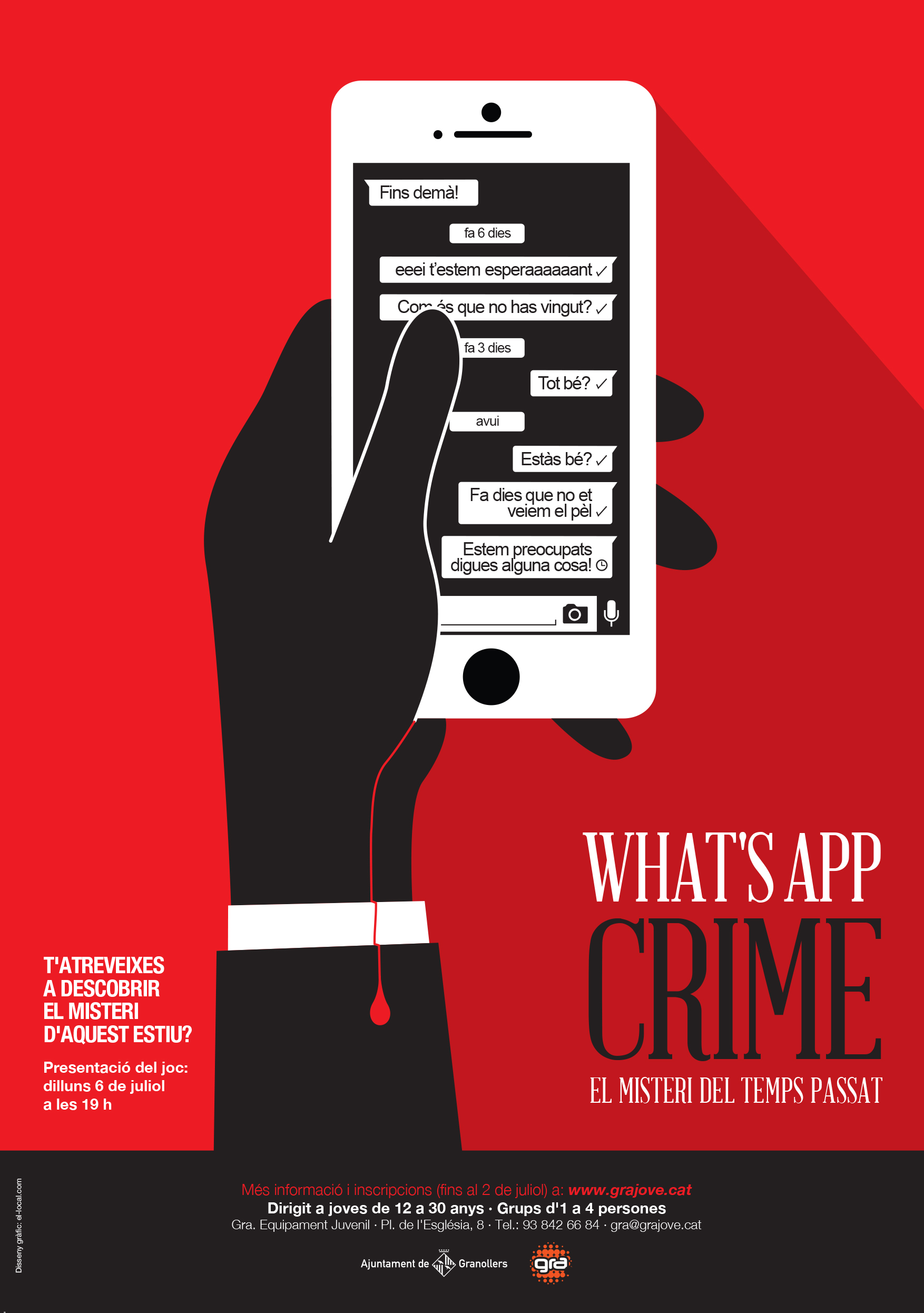 el local_what's app crime