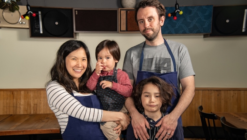 Plate magazine, April 2019:  How Beverly Kim and Johnny Clark balance expanding their restaurant business and family.
