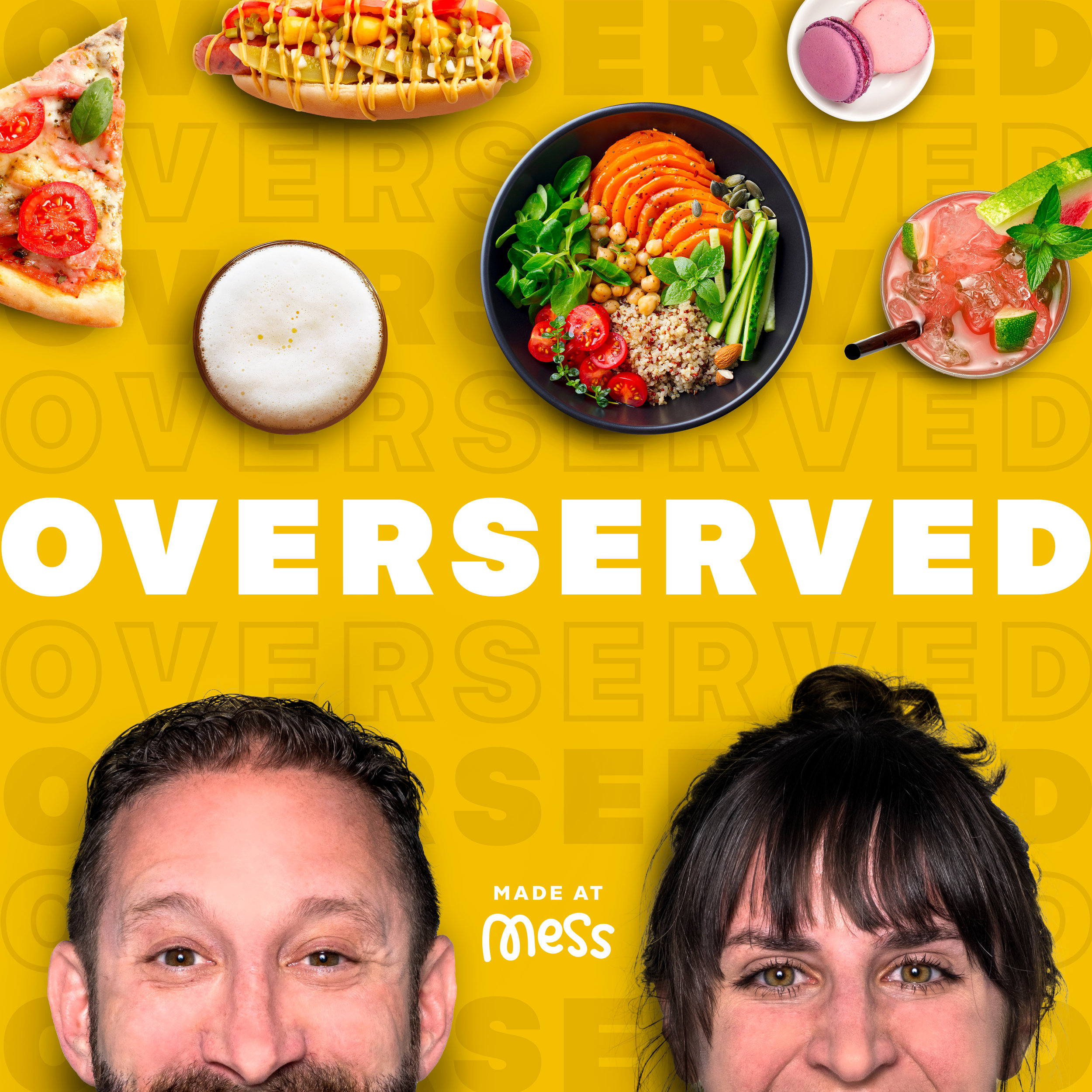 Overserved, weekly podcast (launched July 2019)