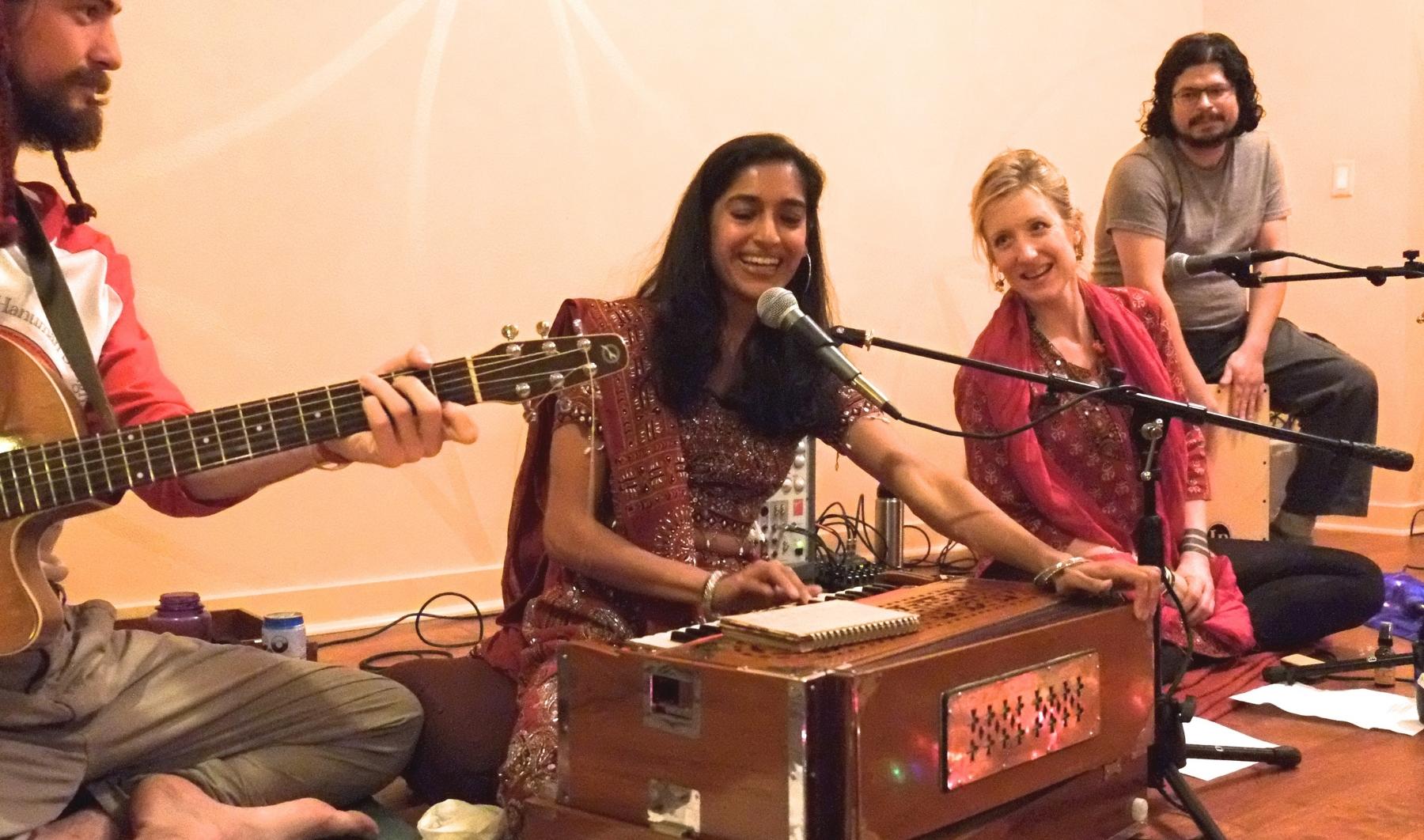 """We sing to the Deity to awaken the Deity within."" - Upanisads"