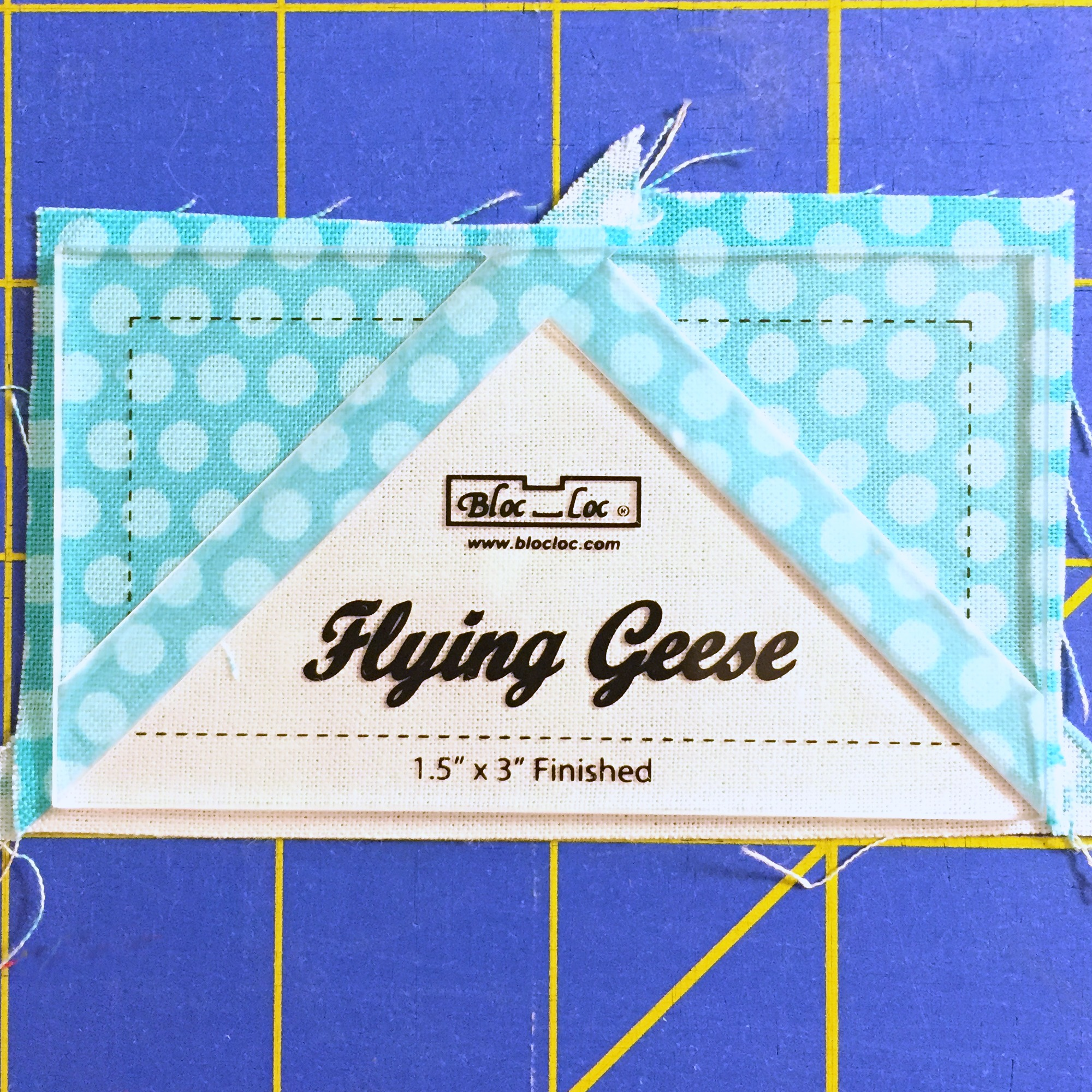 Flying Goose Bloc Loc Ruler