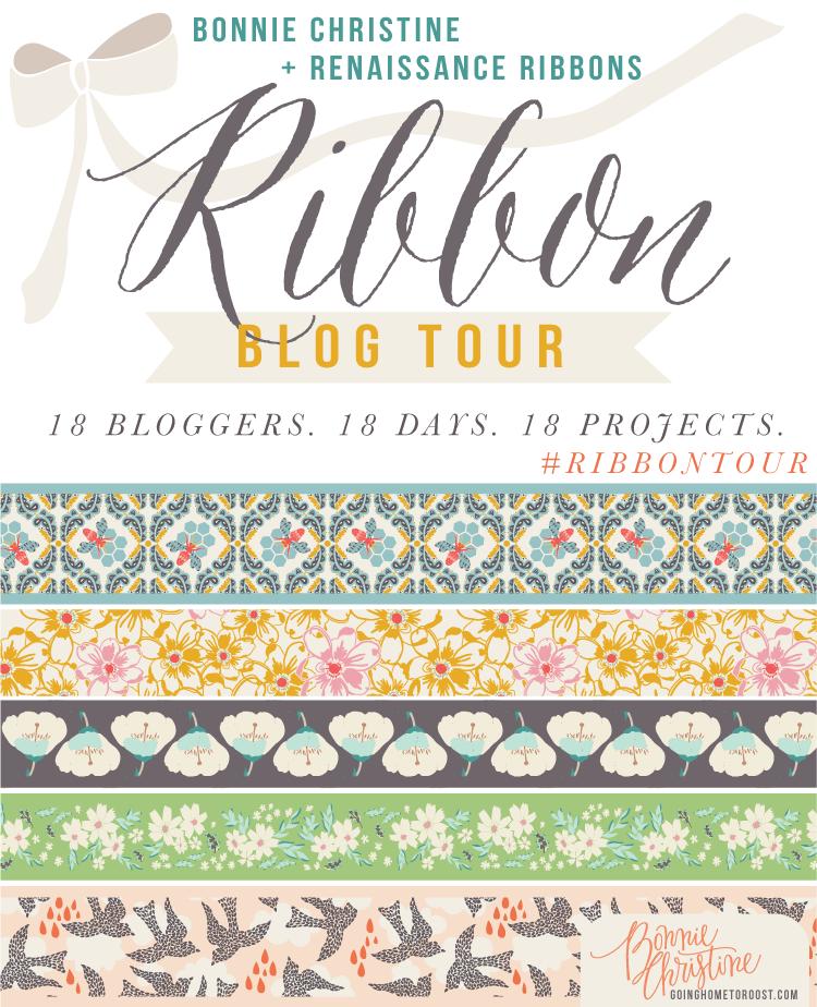 Bonnie Christine and Renaissance Ribbon Blog Tour