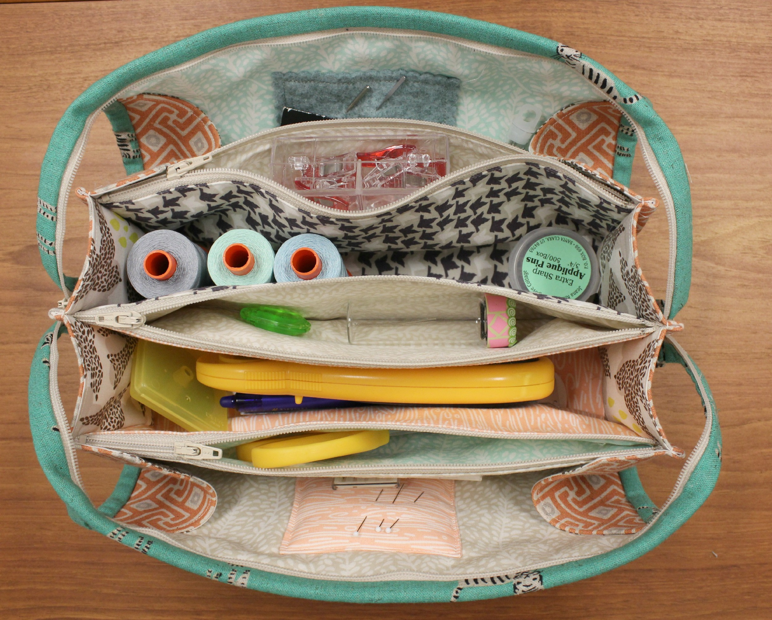 Filled Sew Together Bag