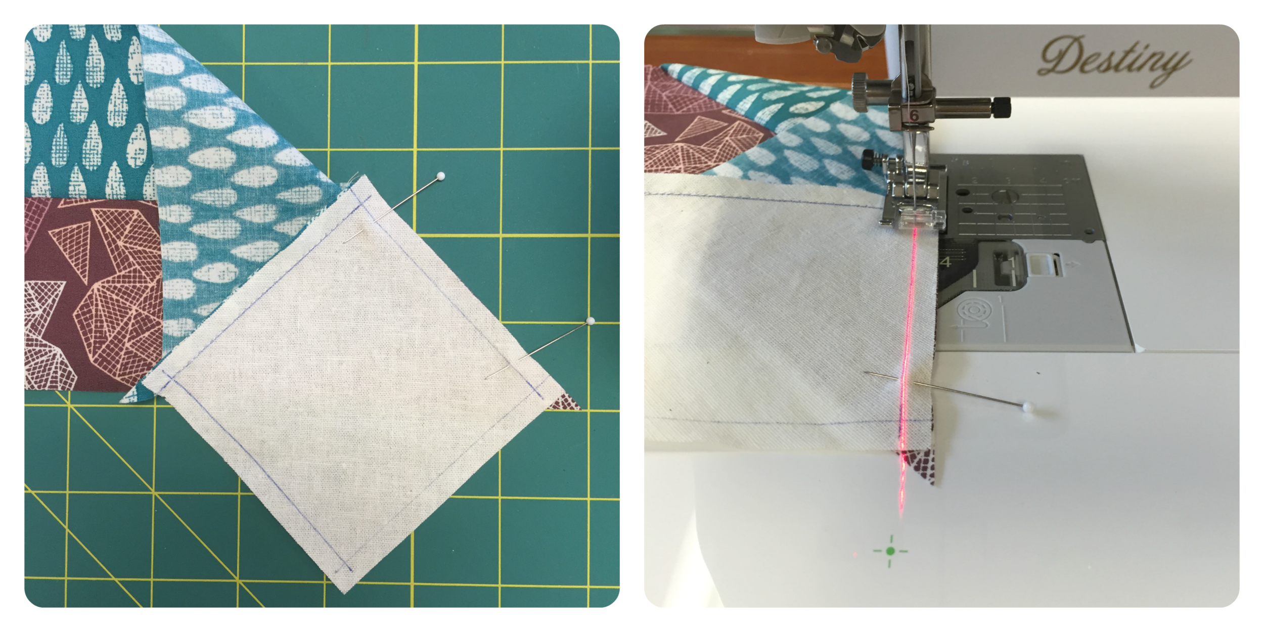 Sewing a 'Y Seam'