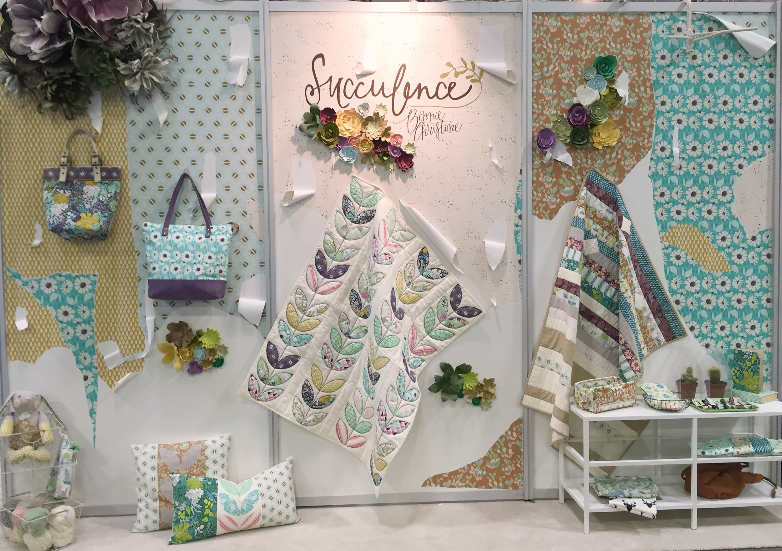 International Quilt Market with Bonnie Christine
