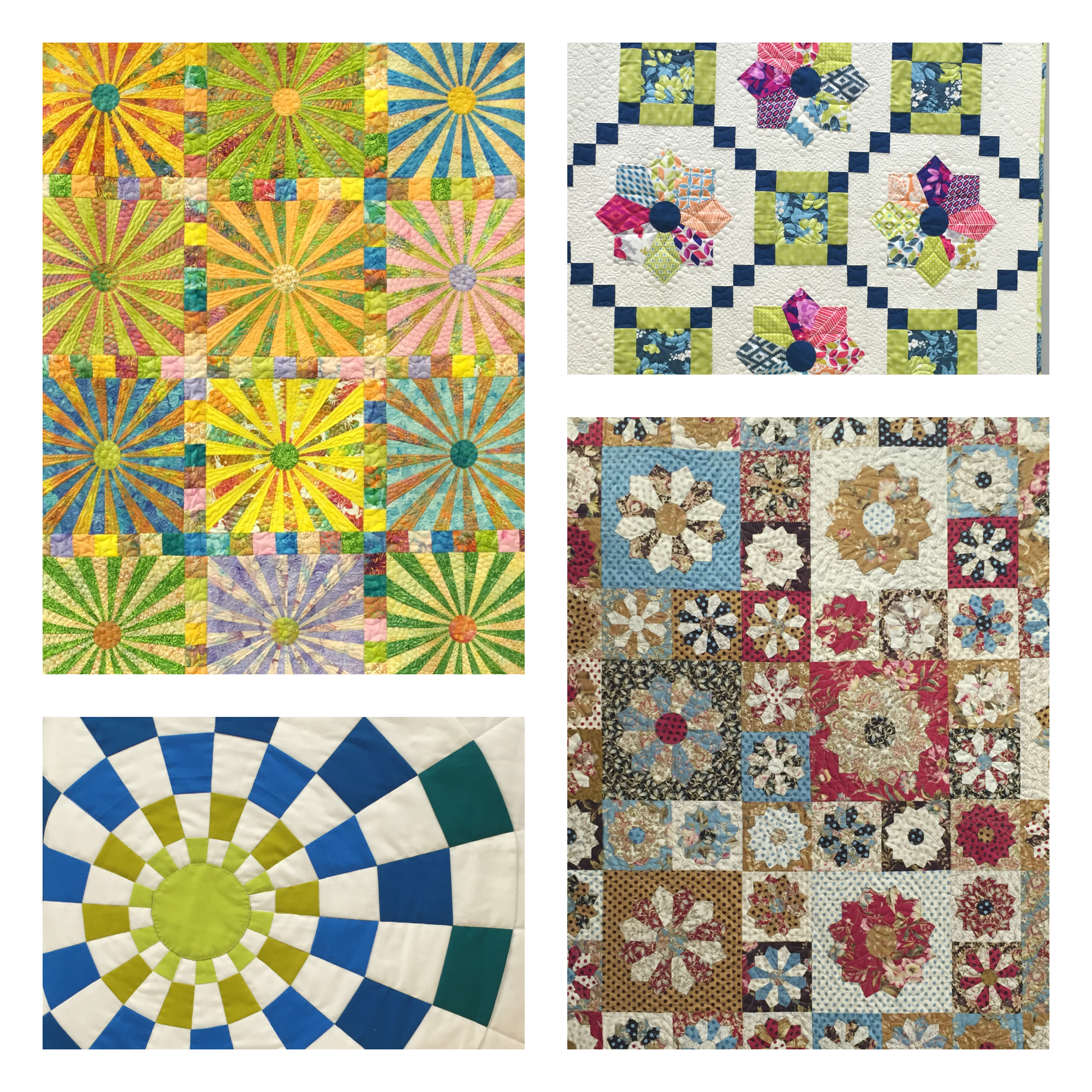 Dresden Plate Quilts