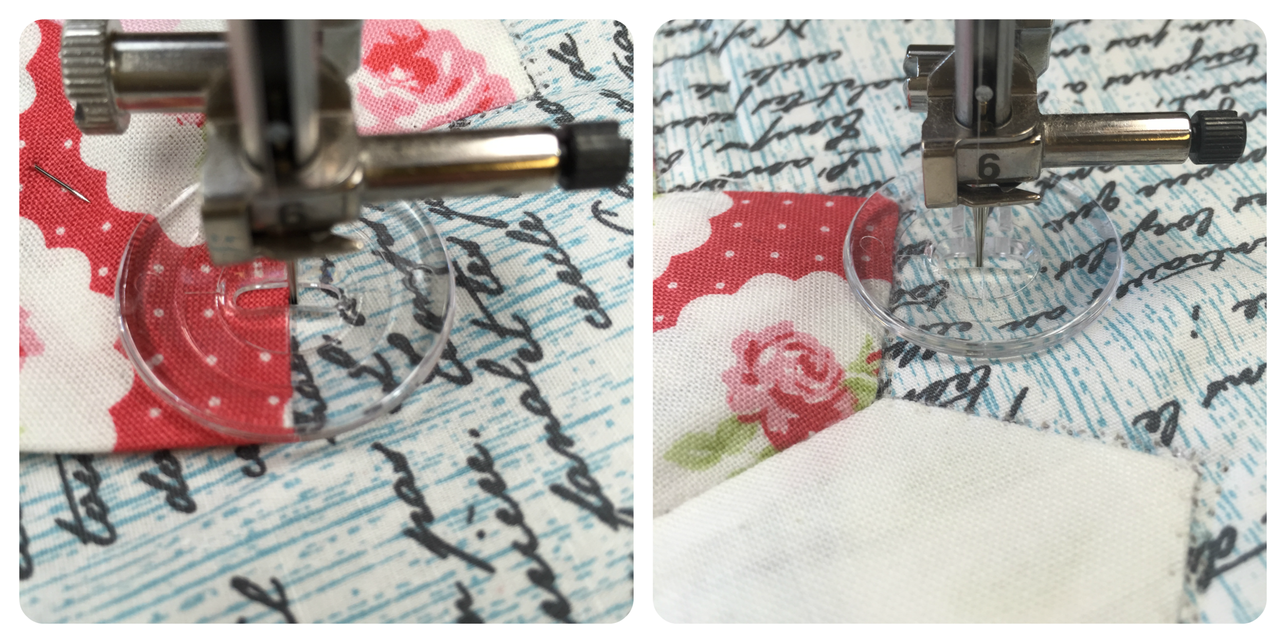 Using the Echo Quilting Foot for applique´or quilting.