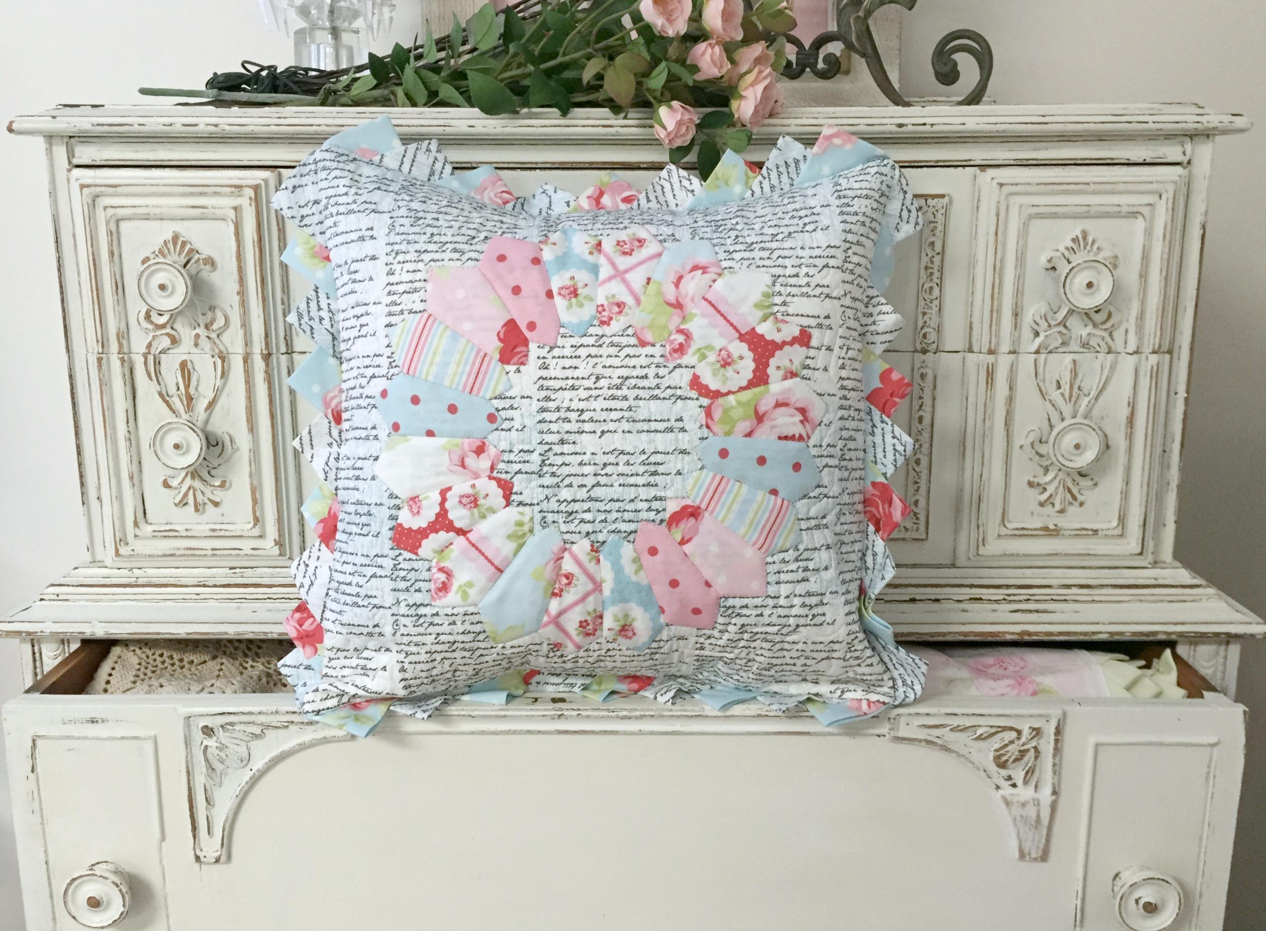 Dresden Plate Pillow