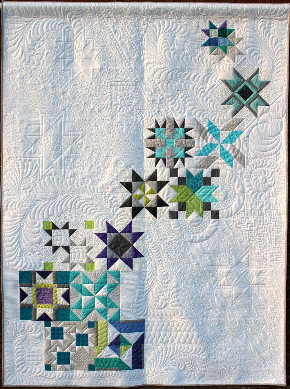 Pinwheel Galaxy Quilt