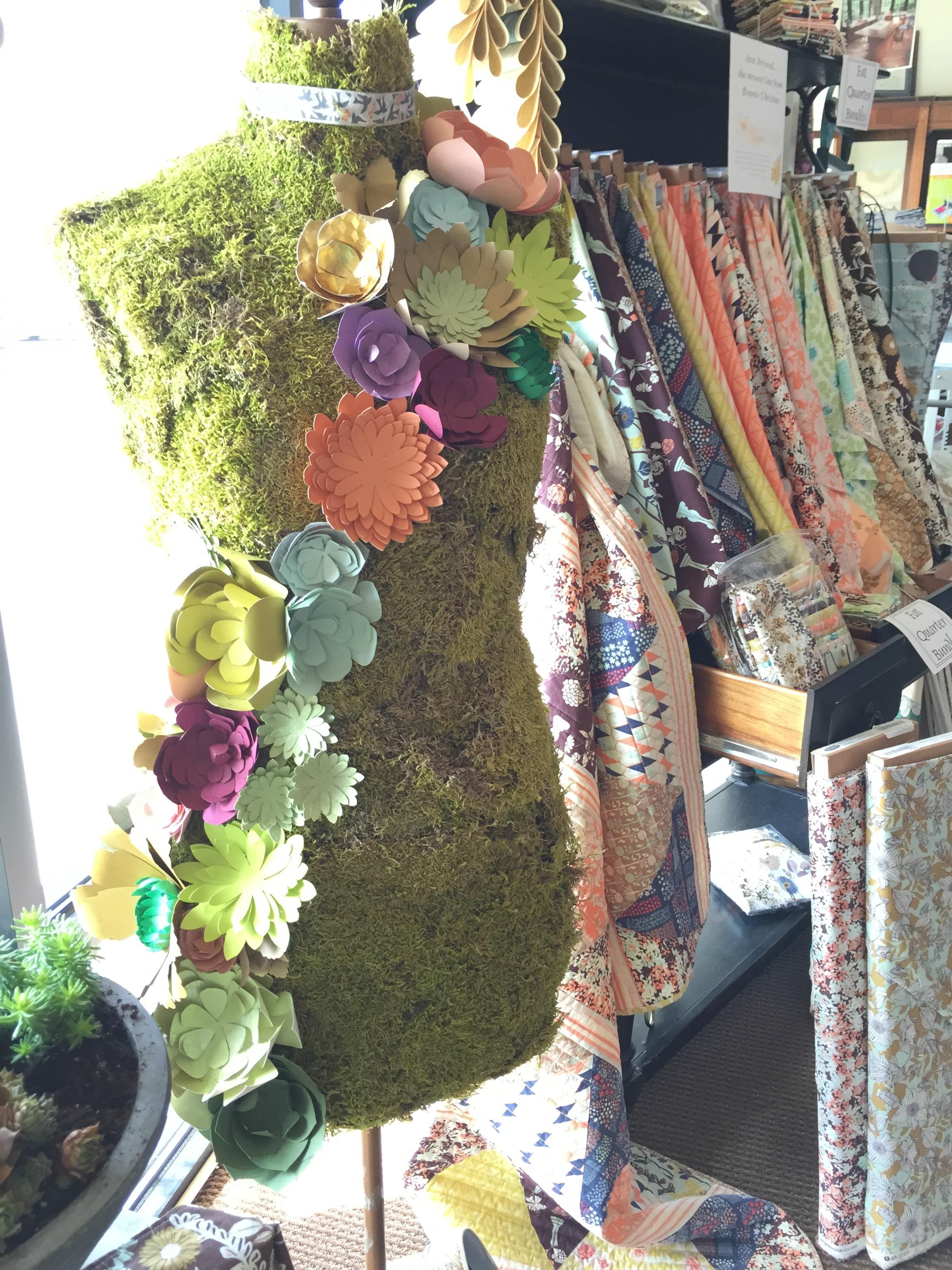 Moss Covered Mannikin