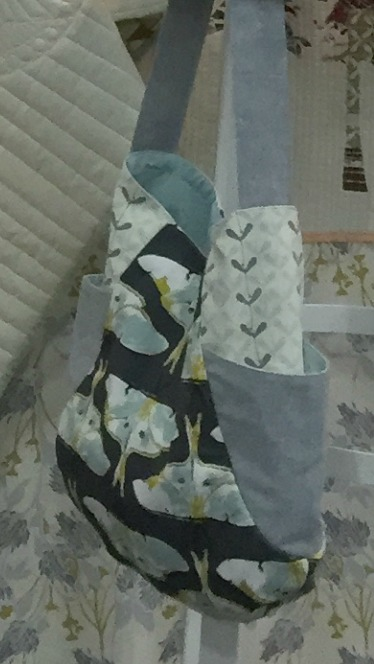 241 Tote by Noodlehead in Forest Floor by Bonnie Christine for Art Gallery Fabrics
