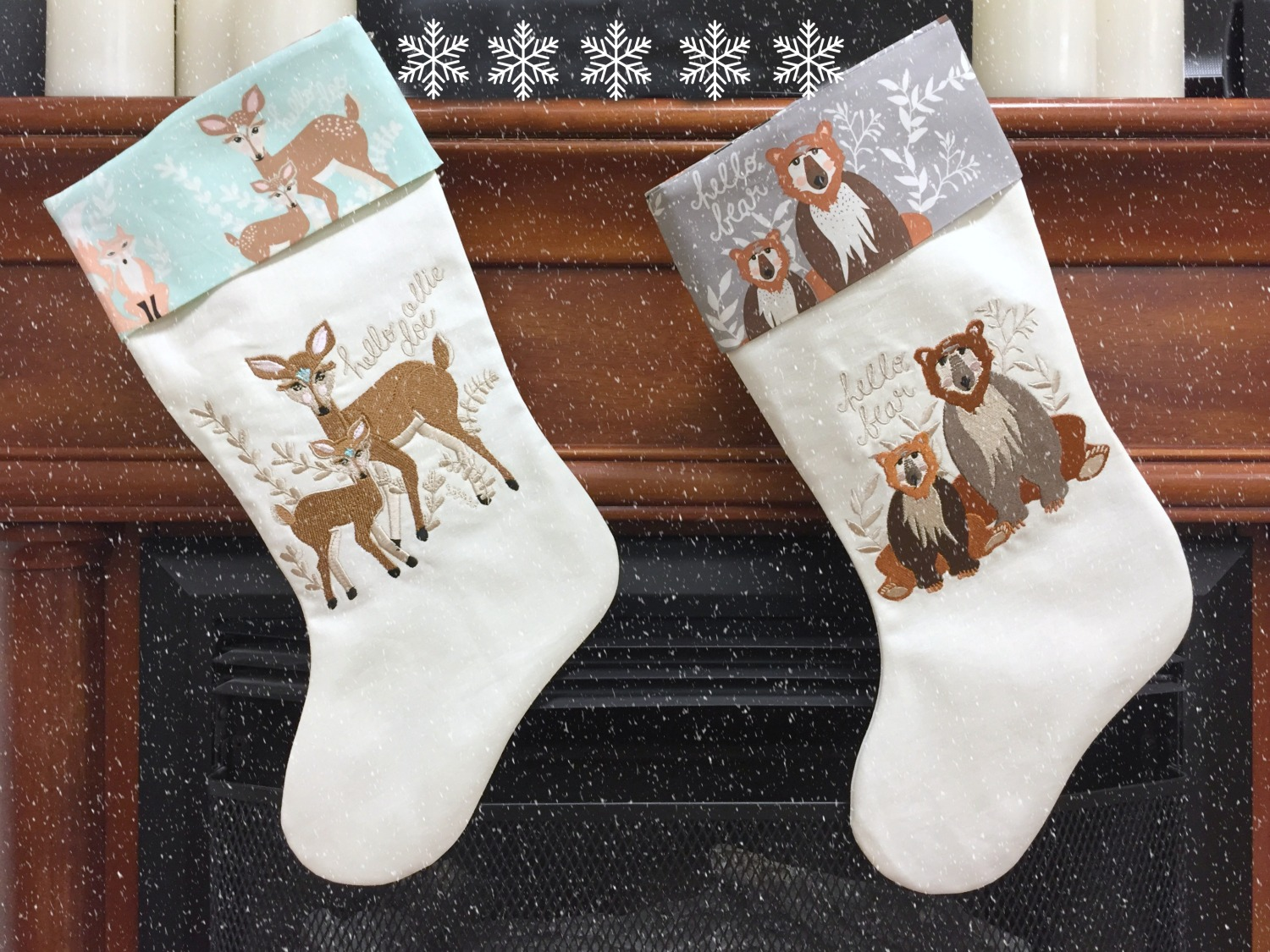 How to make a Christmas Stocking!