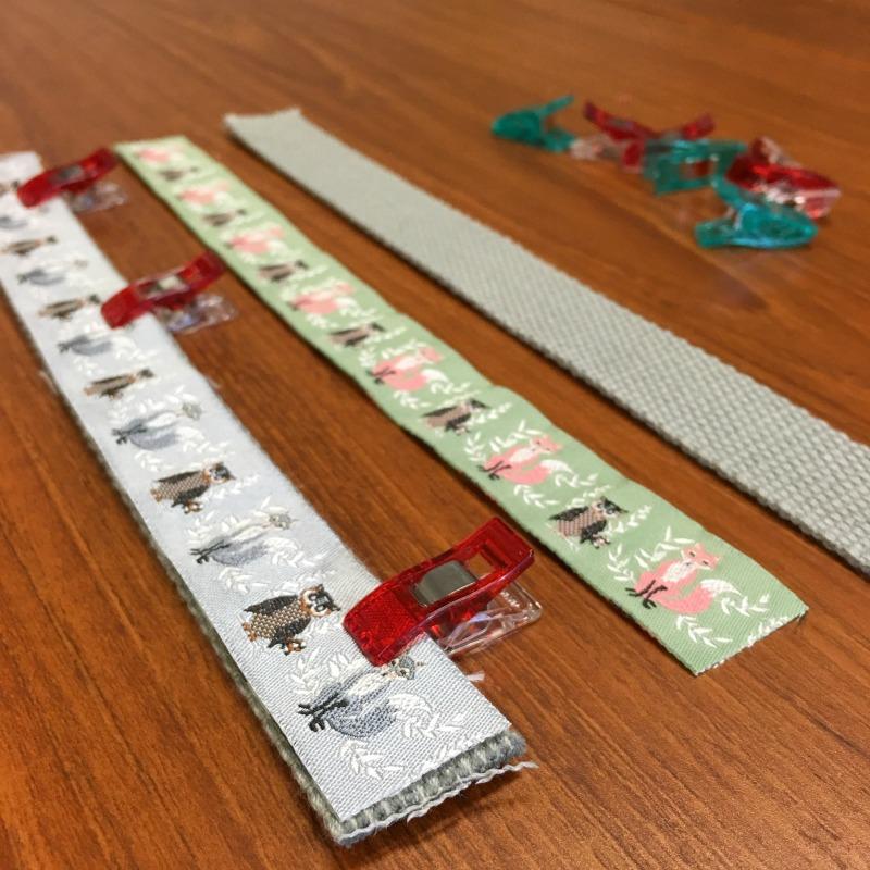 Supplies for Ribbon Key Fob