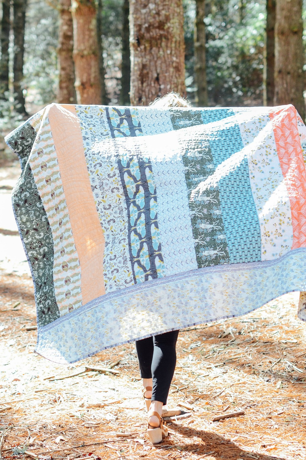 Pieced and Quilted by Sarah Overton. https://mycrowdednest.wordpress.com/             photo by Callie Lynch