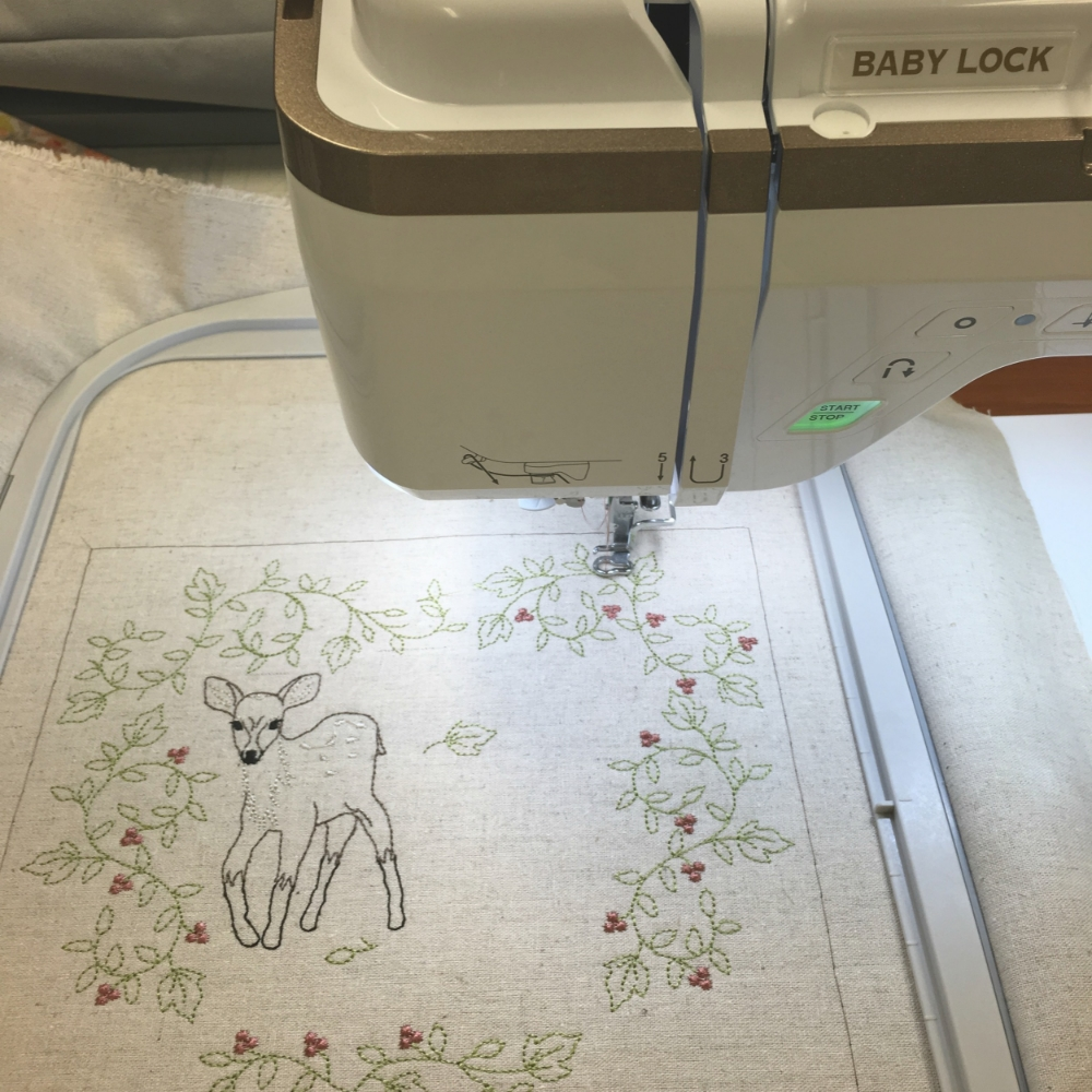 Baby Lock Destiny Sewing and Embroidery Machine