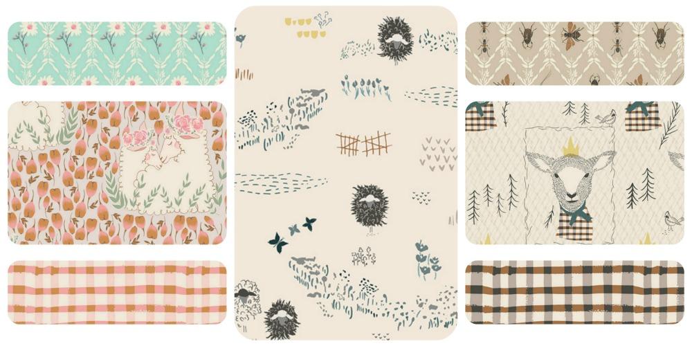Lambkin Fabric by Bonnie Christine for Art Gallery Fabrics
