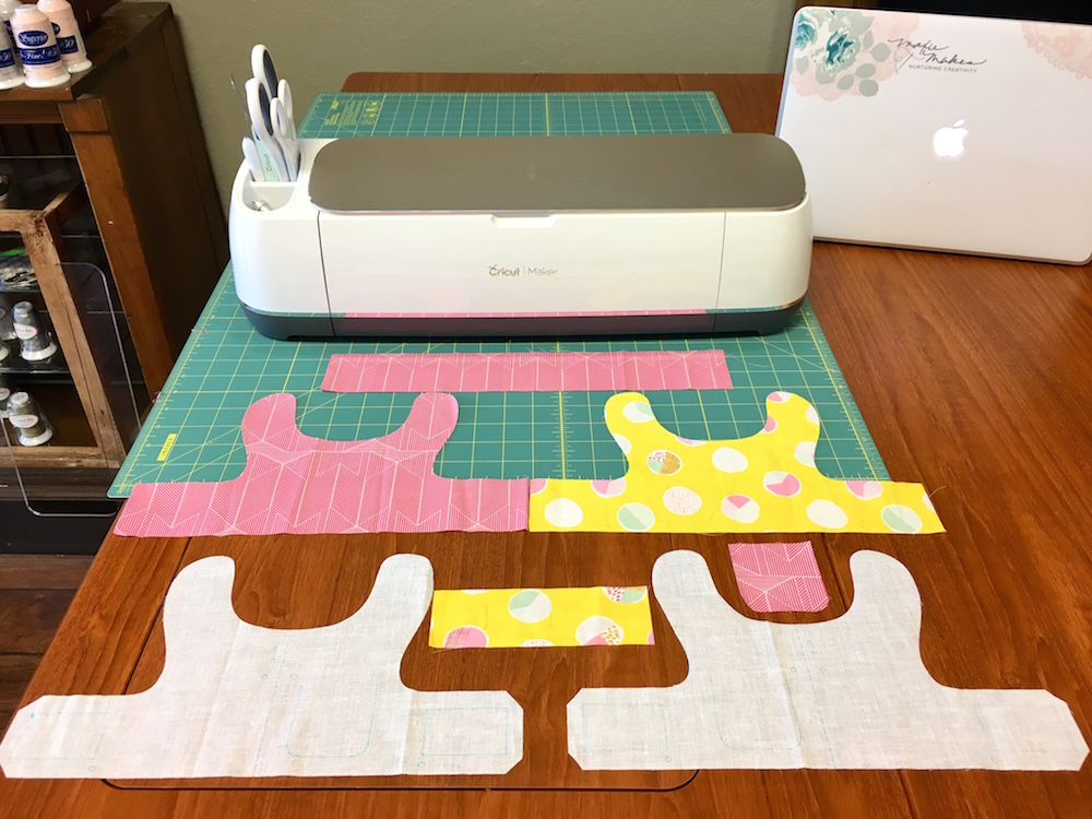 Cricut Maker with Rotary Blade Cuts Fabric!